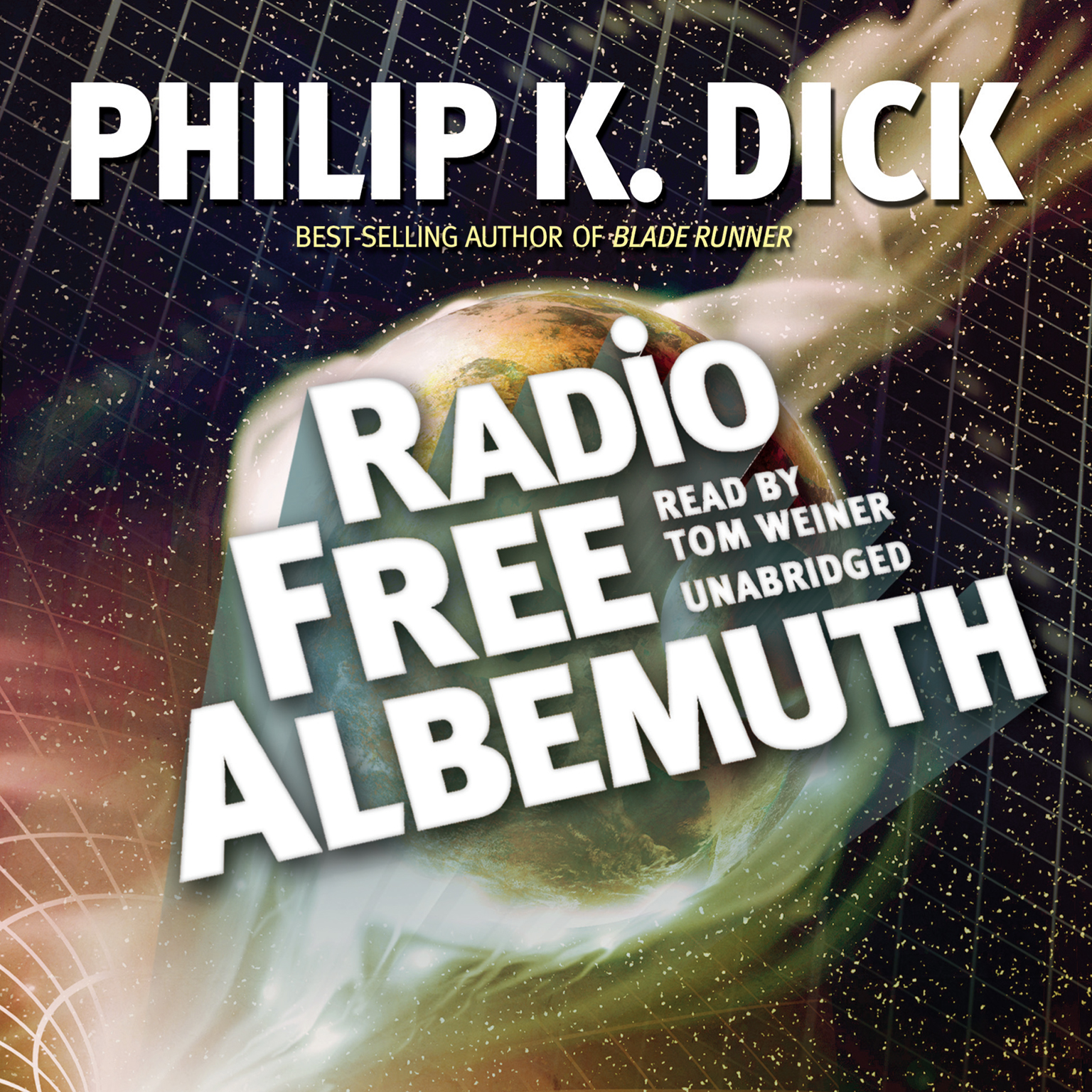 Printable Radio Free Albemuth Audiobook Cover Art
