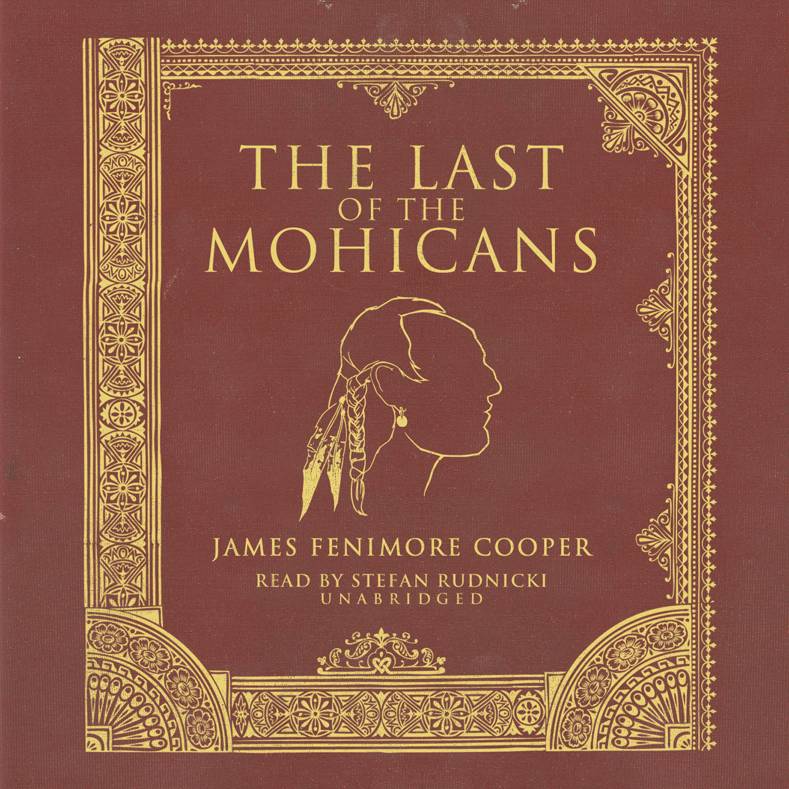Printable The Last of the Mohicans Audiobook Cover Art