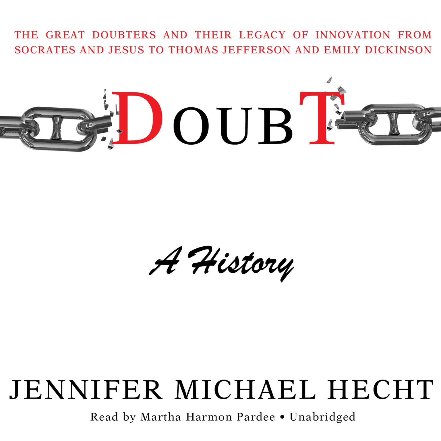 Printable Doubt: A History: The Great Doubters and Their Legacy of Innovation from Socrates and Jesus to Thomas Jefferson and Emily Dickinson Audiobook Cover Art