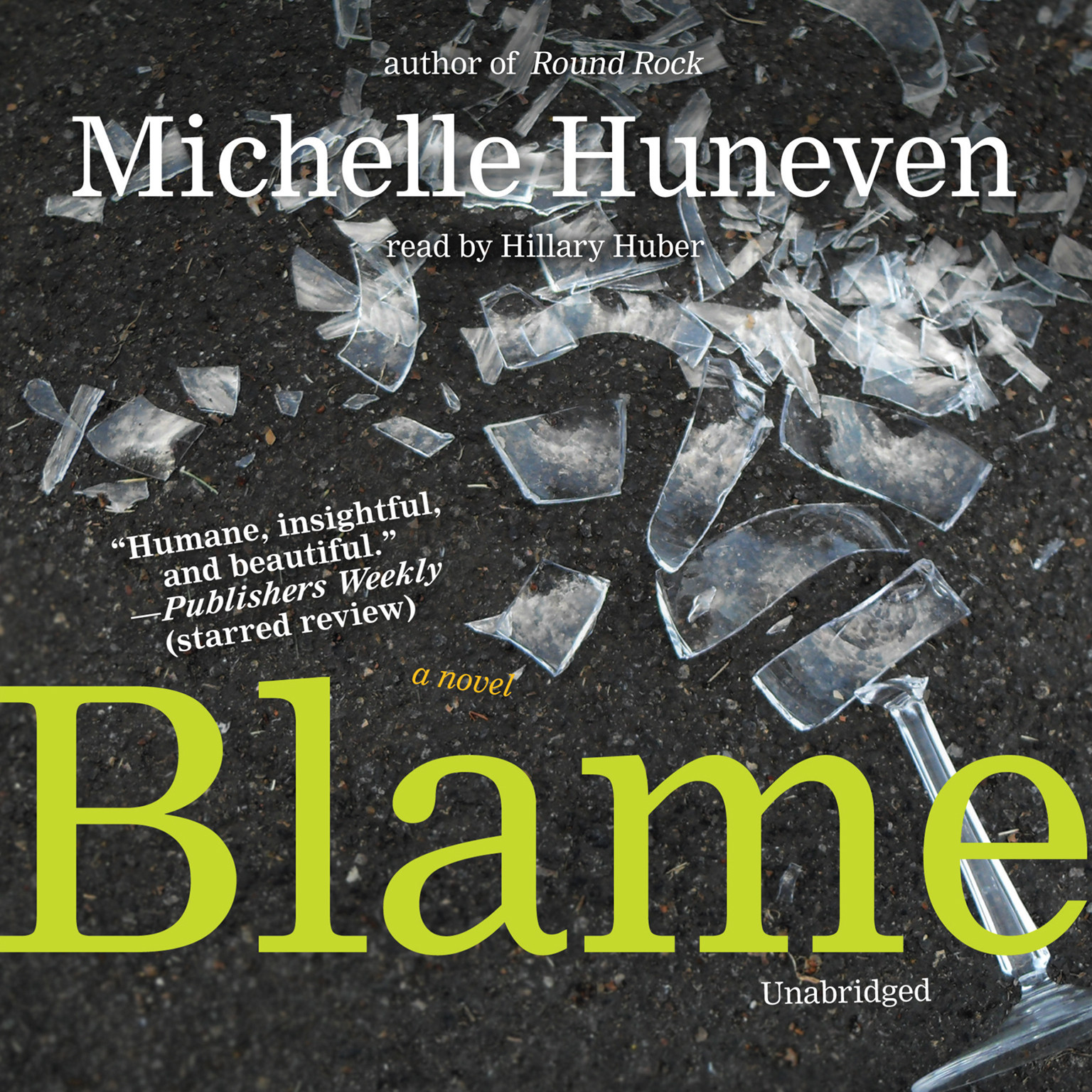 Printable Blame: A Novel Audiobook Cover Art