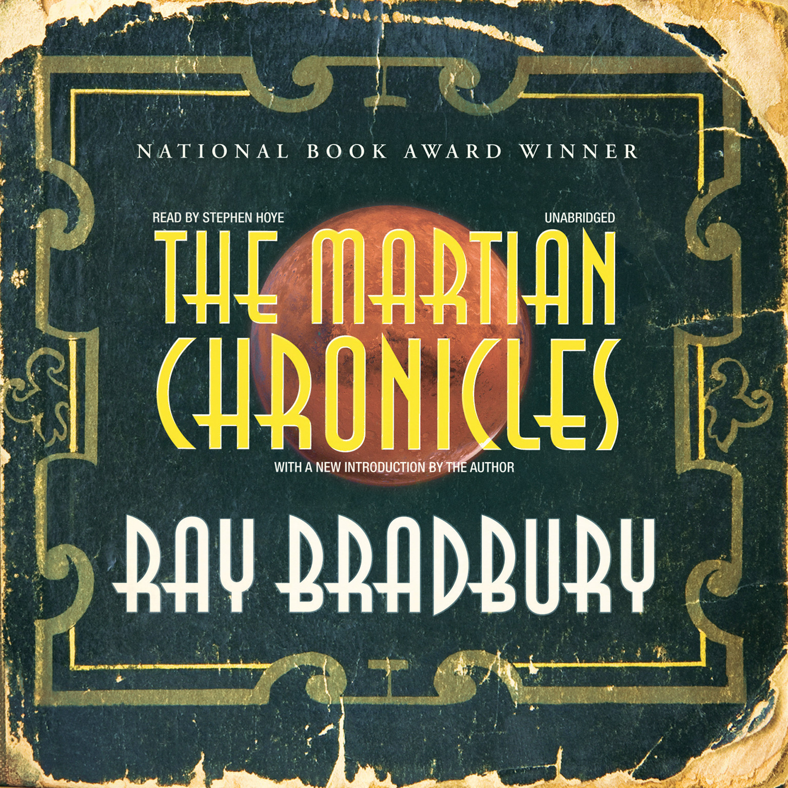 Printable The Martian Chronicles Audiobook Cover Art