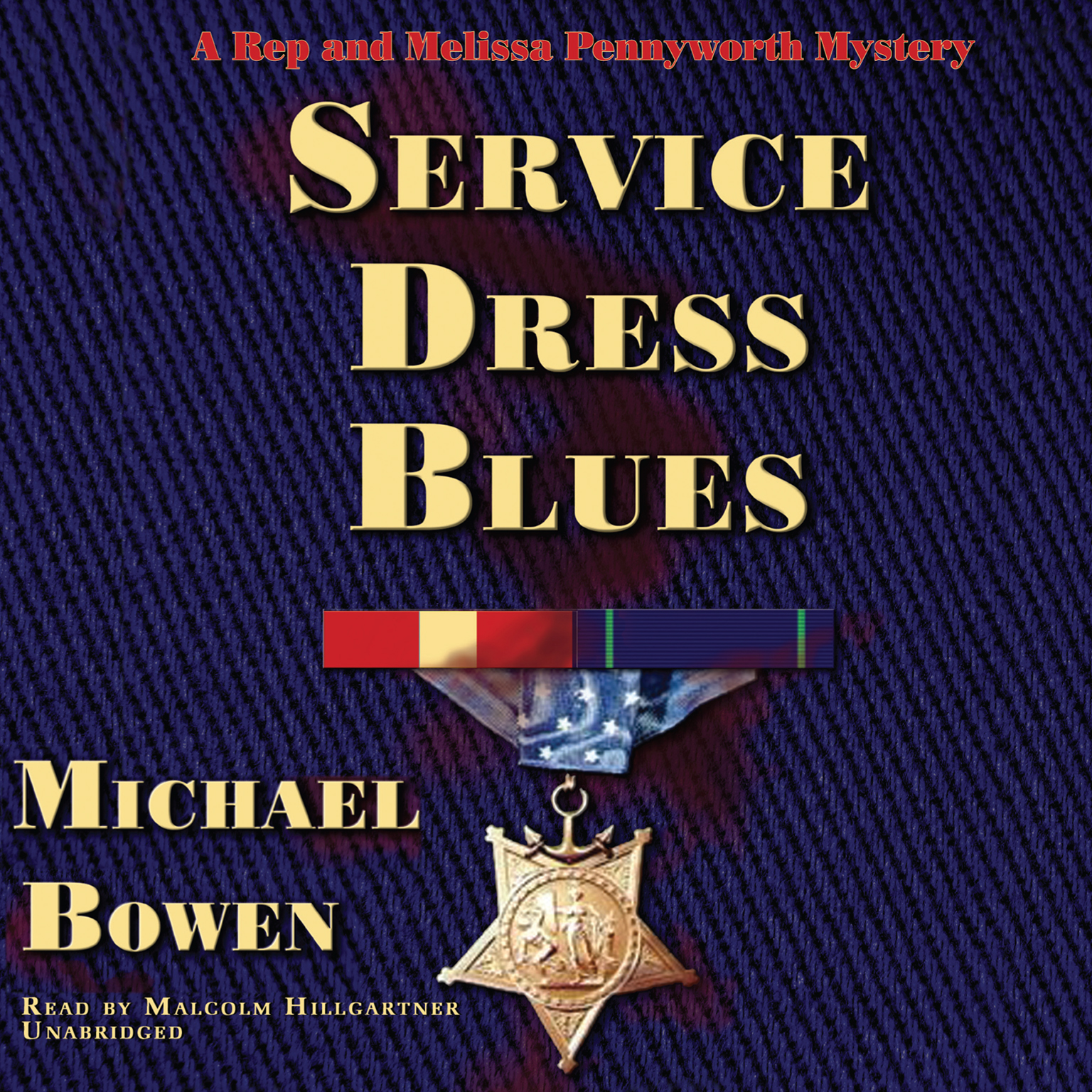 Printable Service Dress Blues Audiobook Cover Art
