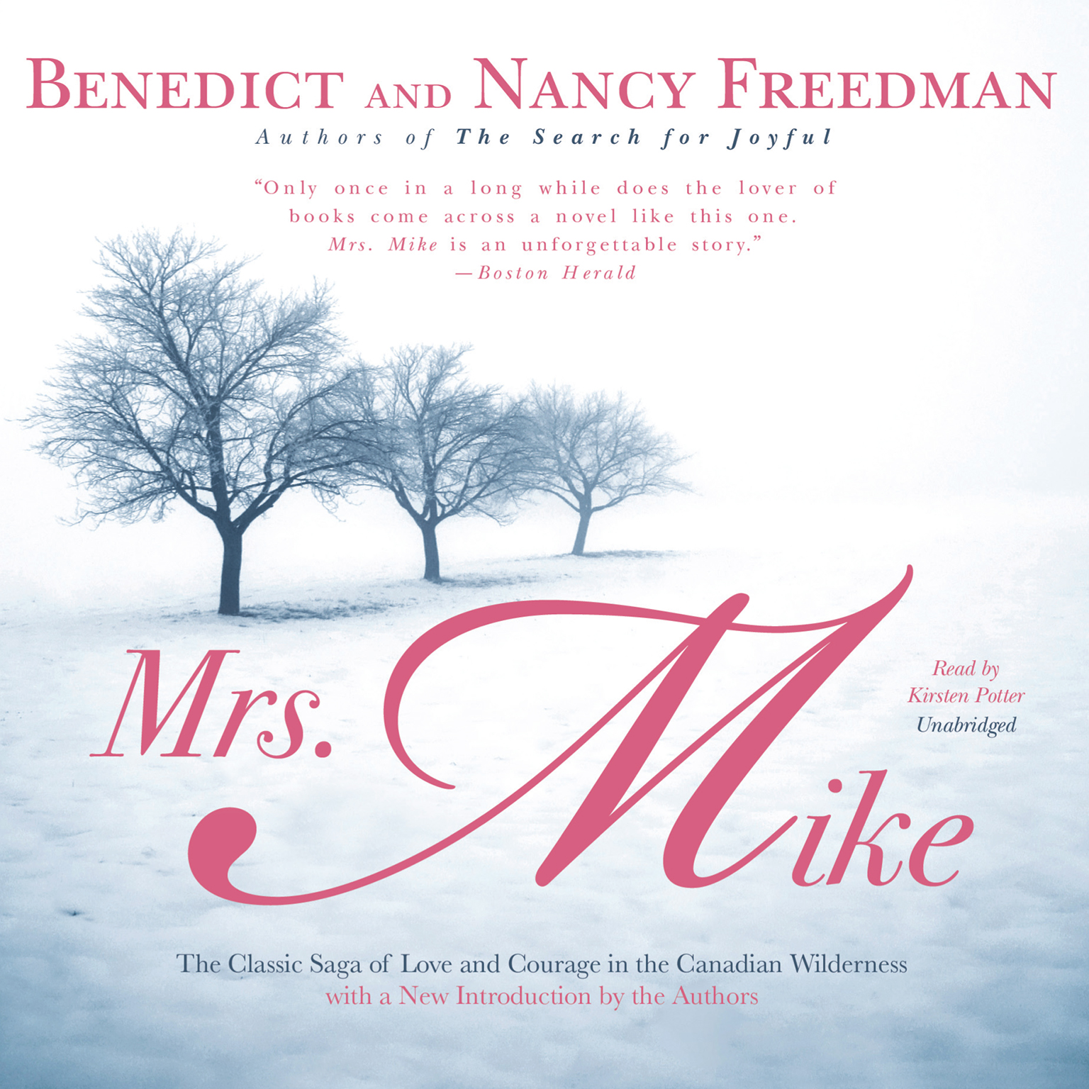Printable Mrs. Mike Audiobook Cover Art