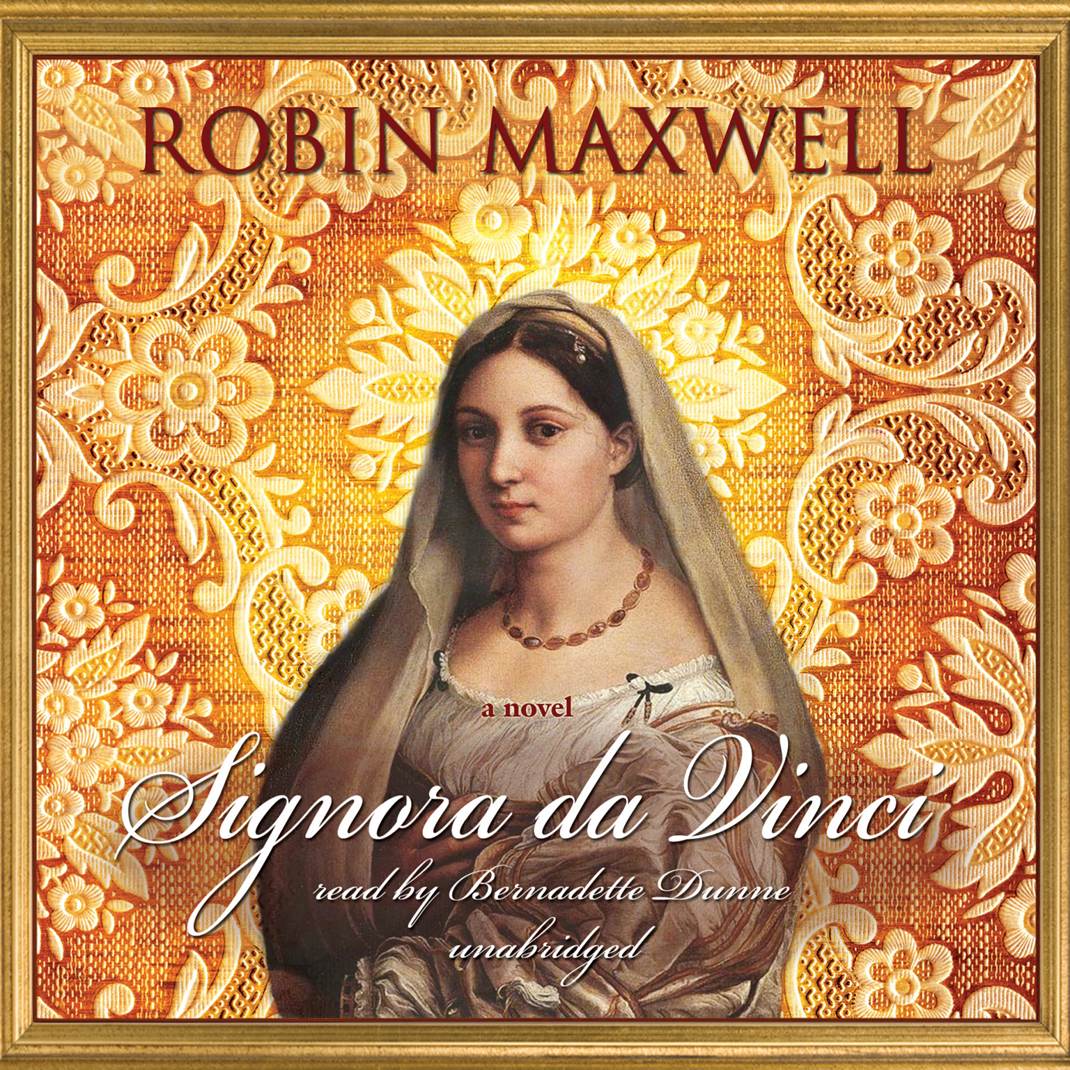 Printable Signora da Vinci: A Novel Audiobook Cover Art