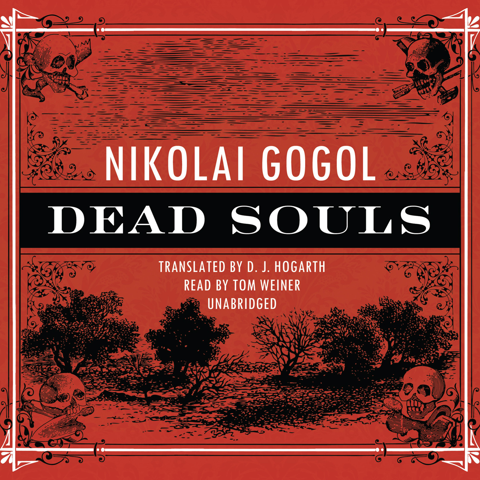 Printable Dead Souls Audiobook Cover Art