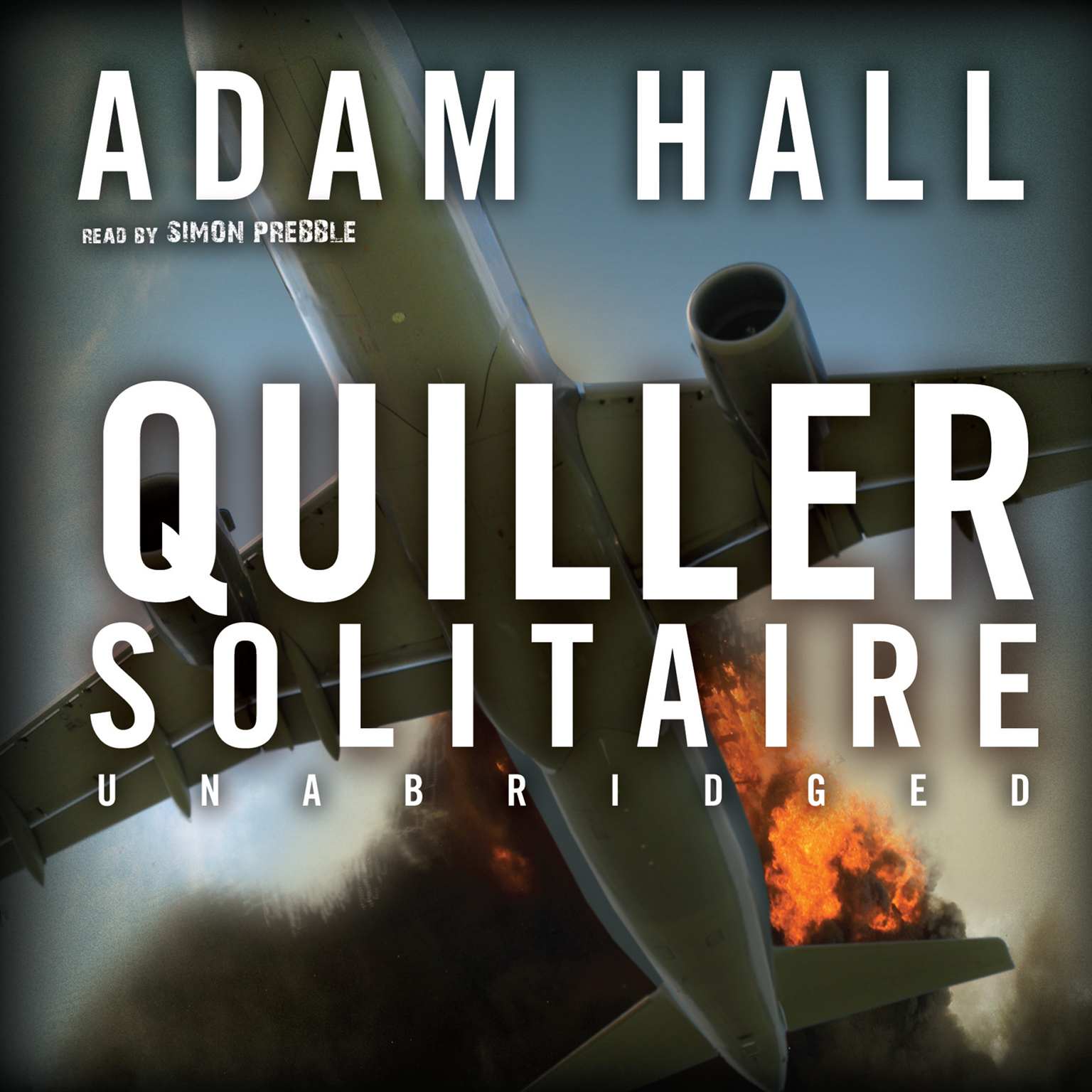 Printable Quiller Solitaire Audiobook Cover Art