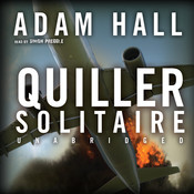 Quiller Solitaire Audiobook, by Adam Hall