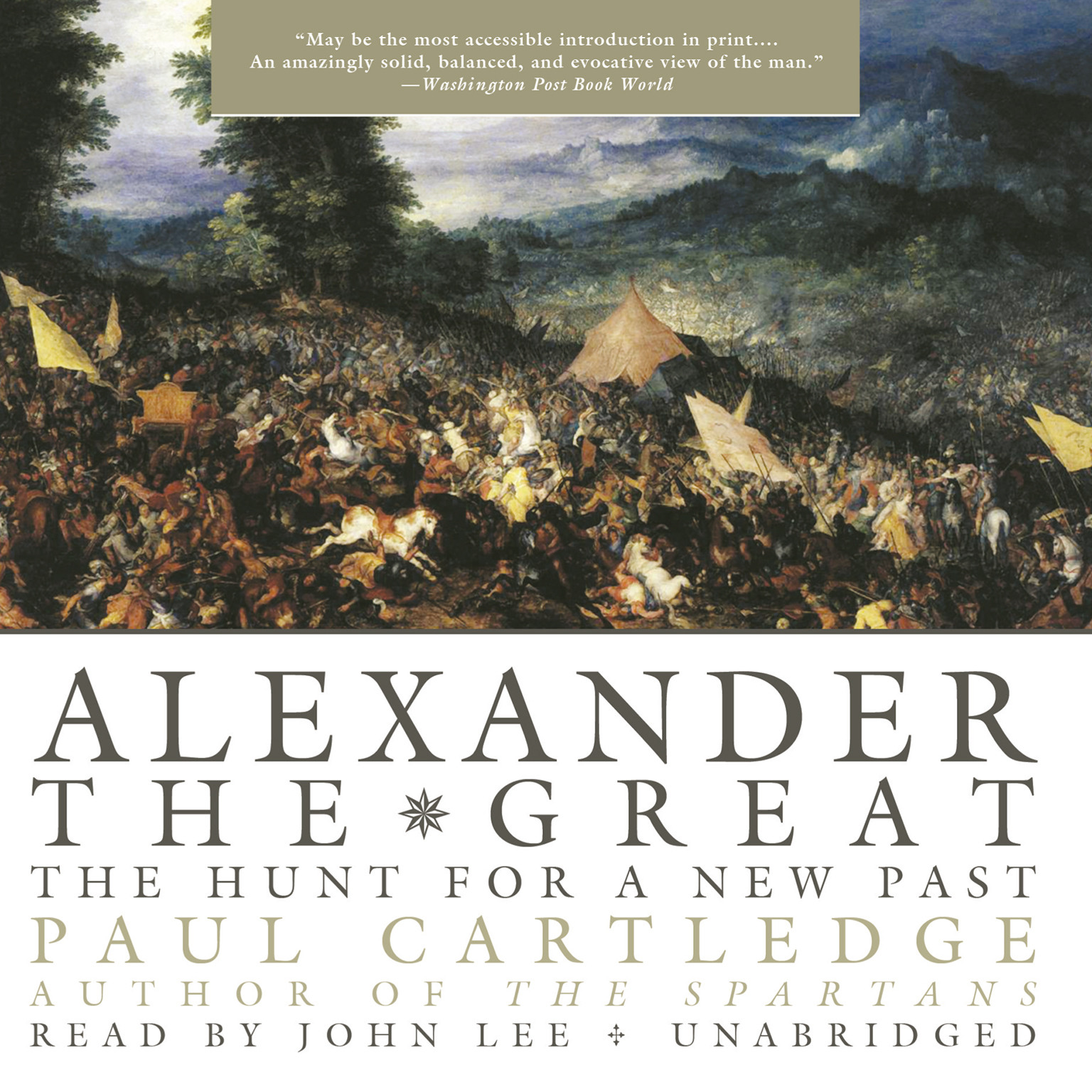 Printable Alexander the Great: The Hunt for a New Past Audiobook Cover Art