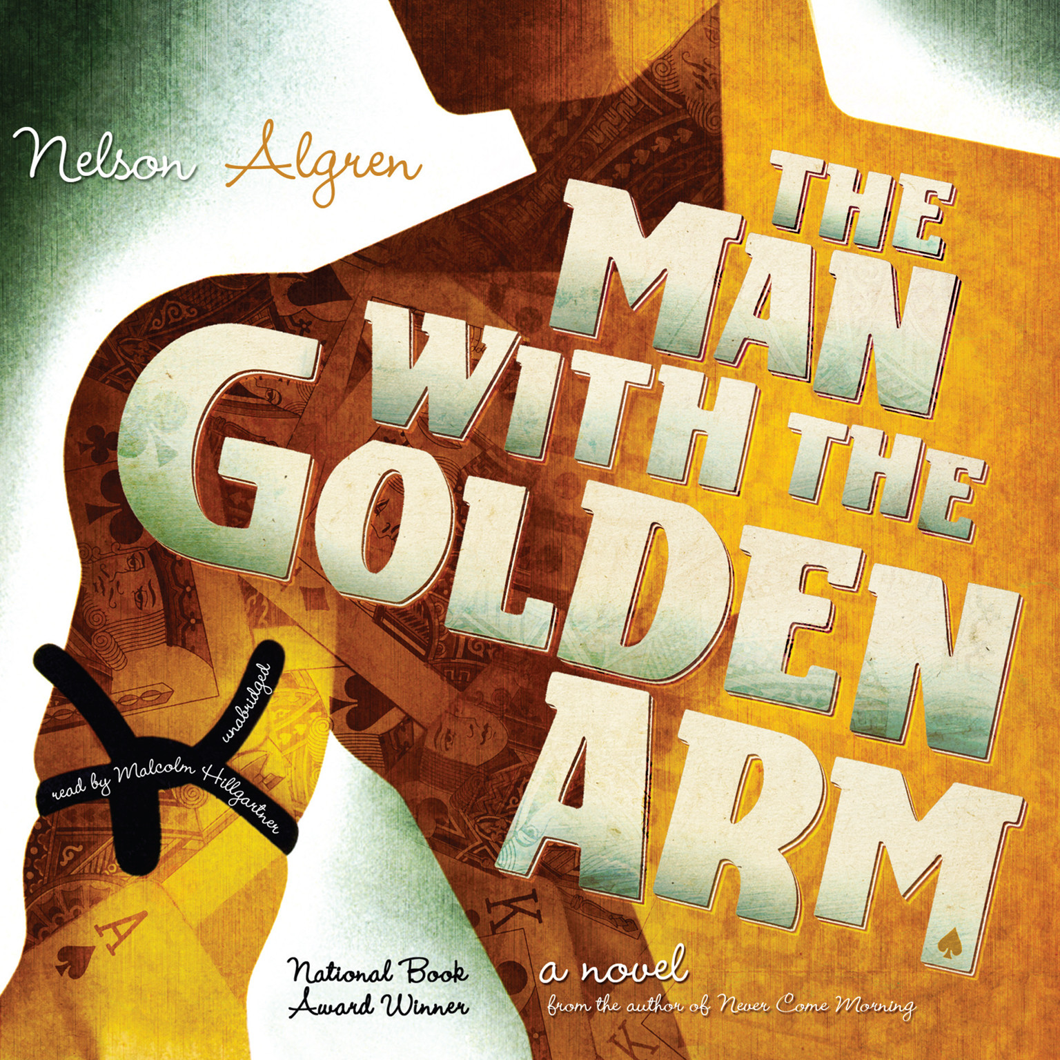 Printable The Man with the Golden Arm Audiobook Cover Art
