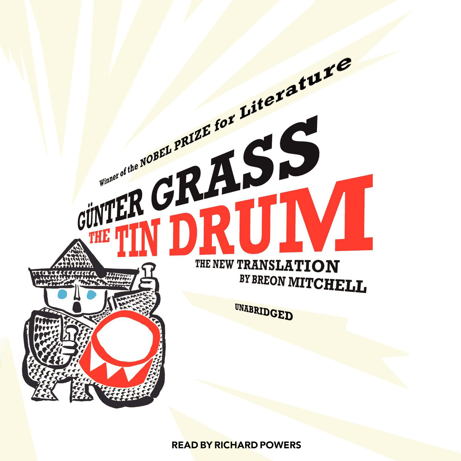 Printable The Tin Drum: A New Translation by Breon Mitchell Audiobook Cover Art