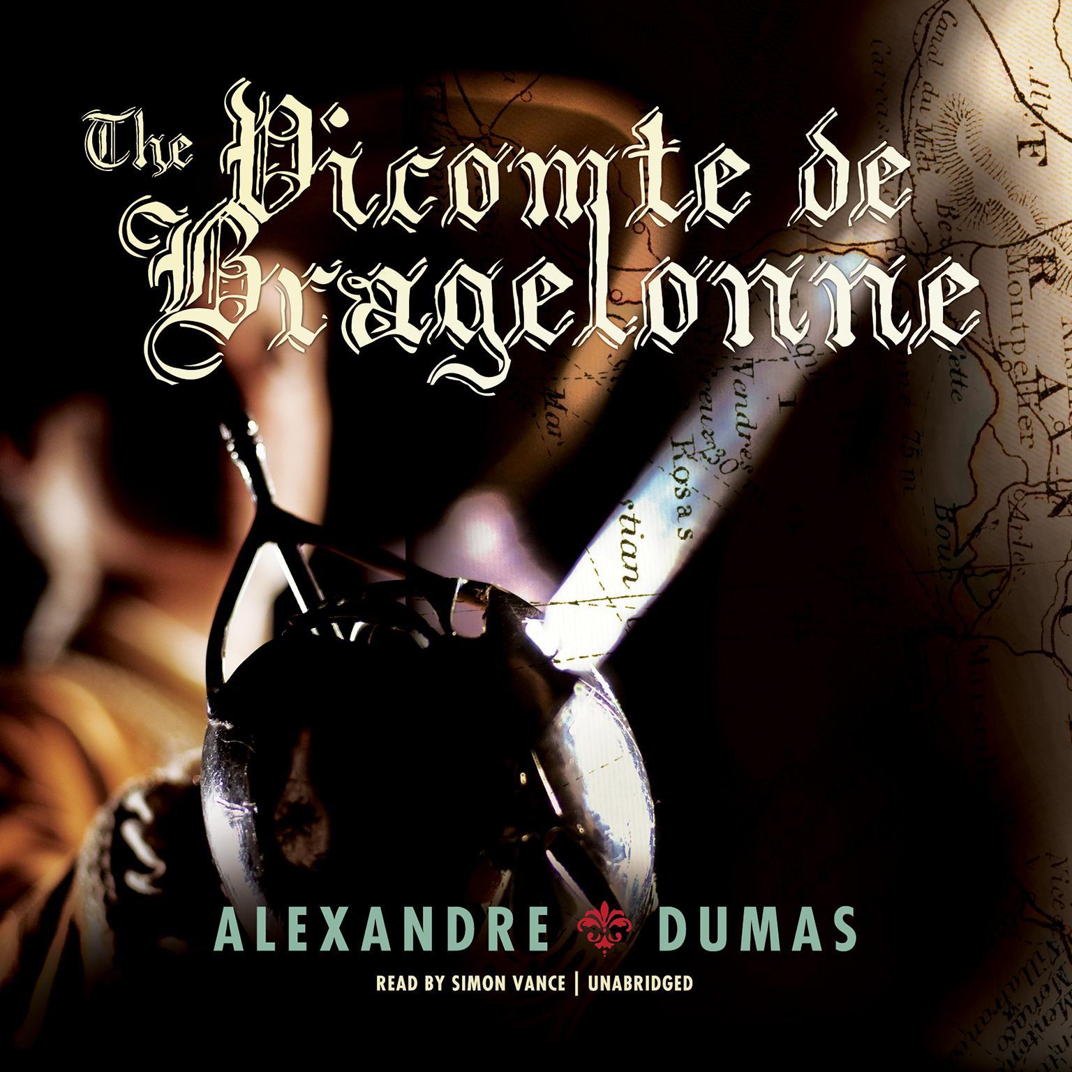 Printable The Vicomte de Bragelonne Audiobook Cover Art