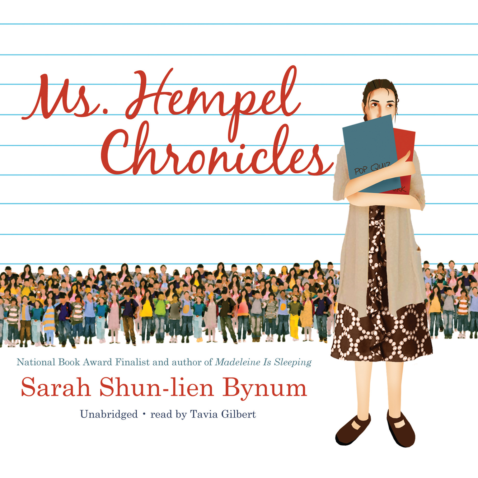 Printable Ms. Hempel Chronicles Audiobook Cover Art