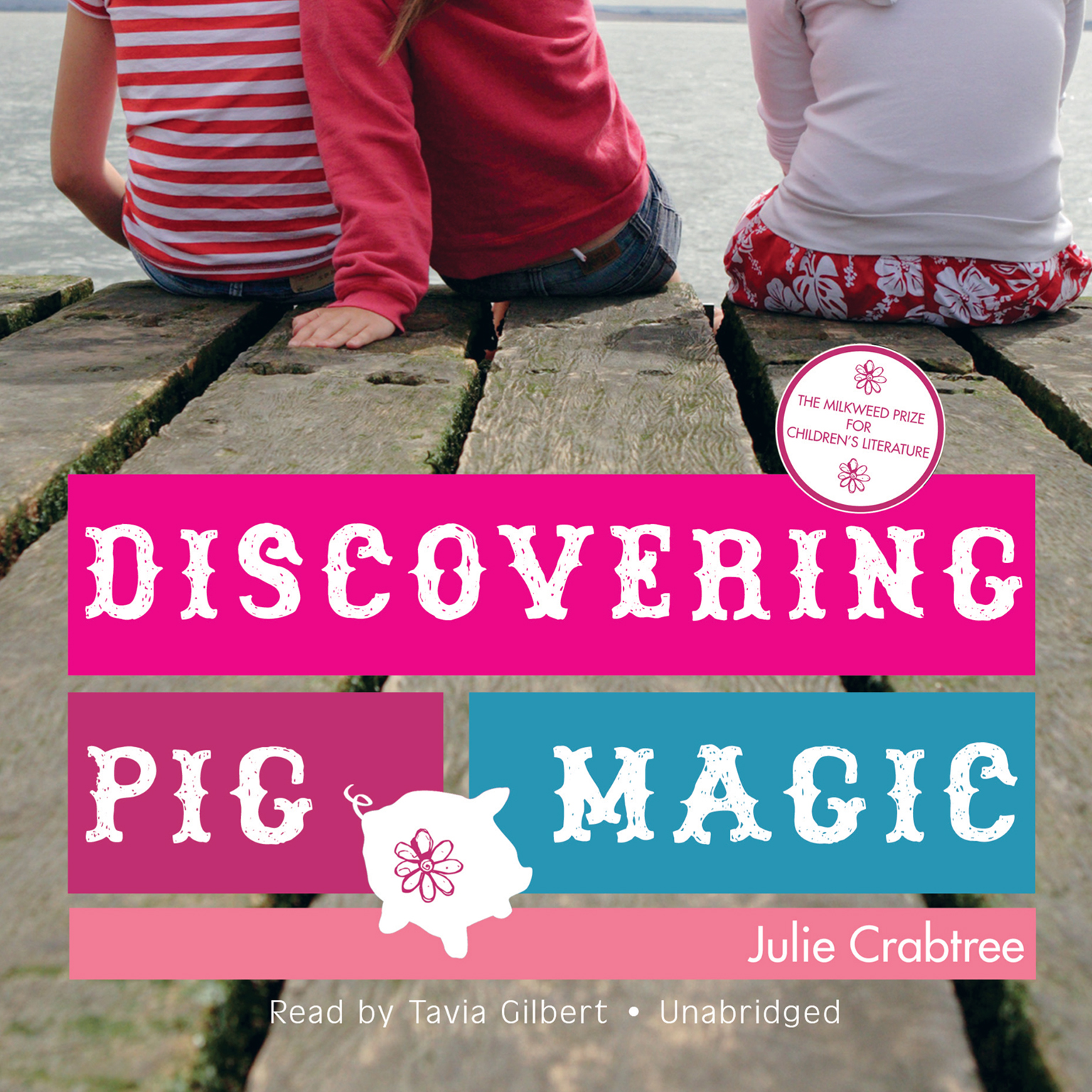 Printable Discovering Pig Magic Audiobook Cover Art