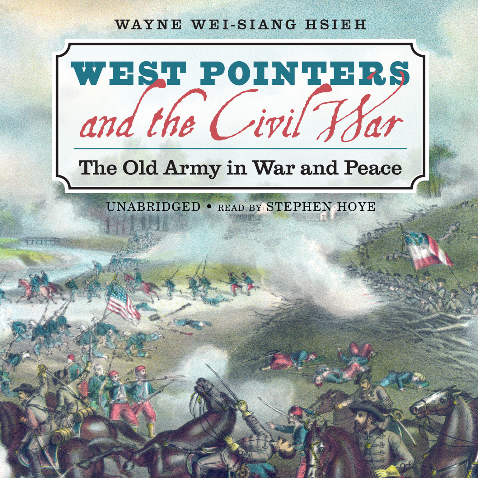 Printable West Pointers and the Civil War: The Old Army in War and Peace Audiobook Cover Art