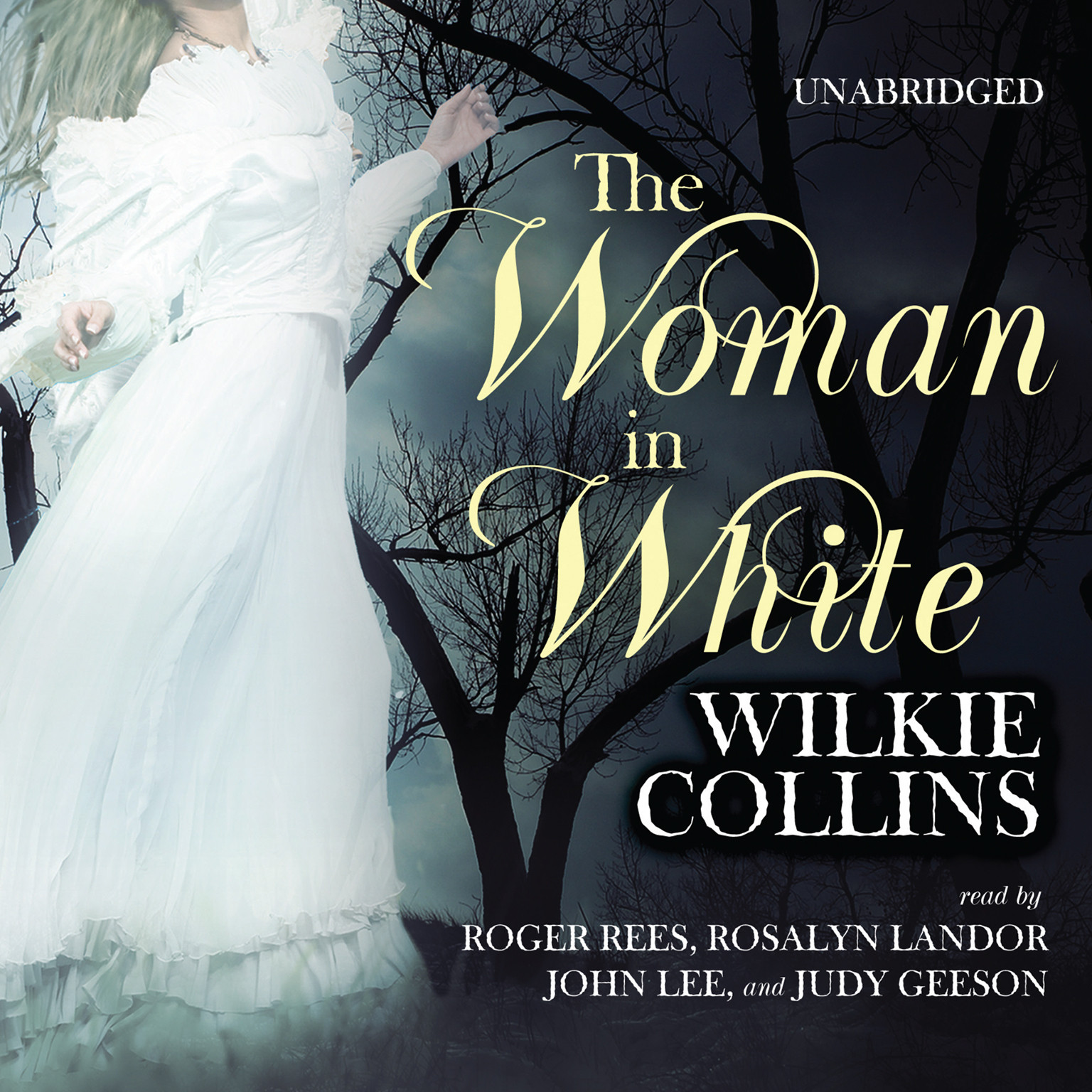 Printable The Woman in White Audiobook Cover Art