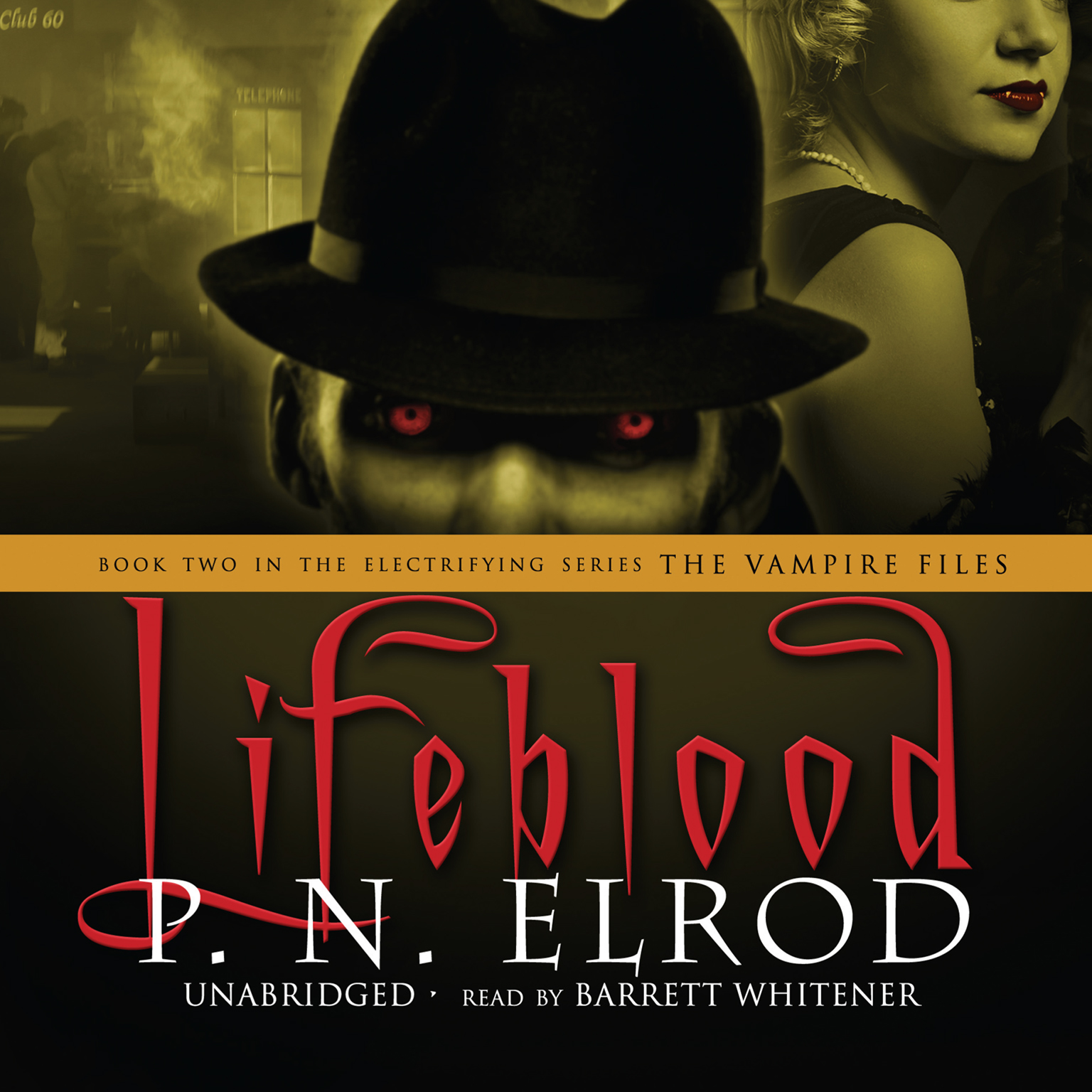 Printable Lifeblood Audiobook Cover Art
