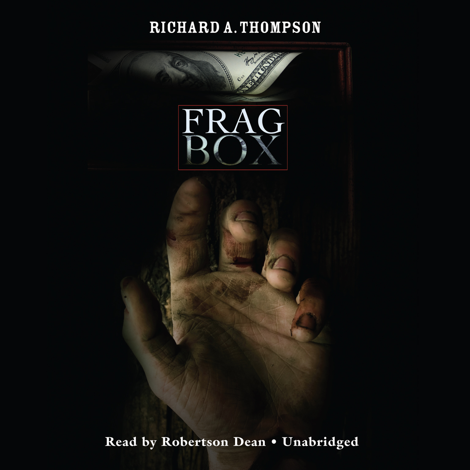 Printable Frag Box: A Herman Jackson Mystery Audiobook Cover Art