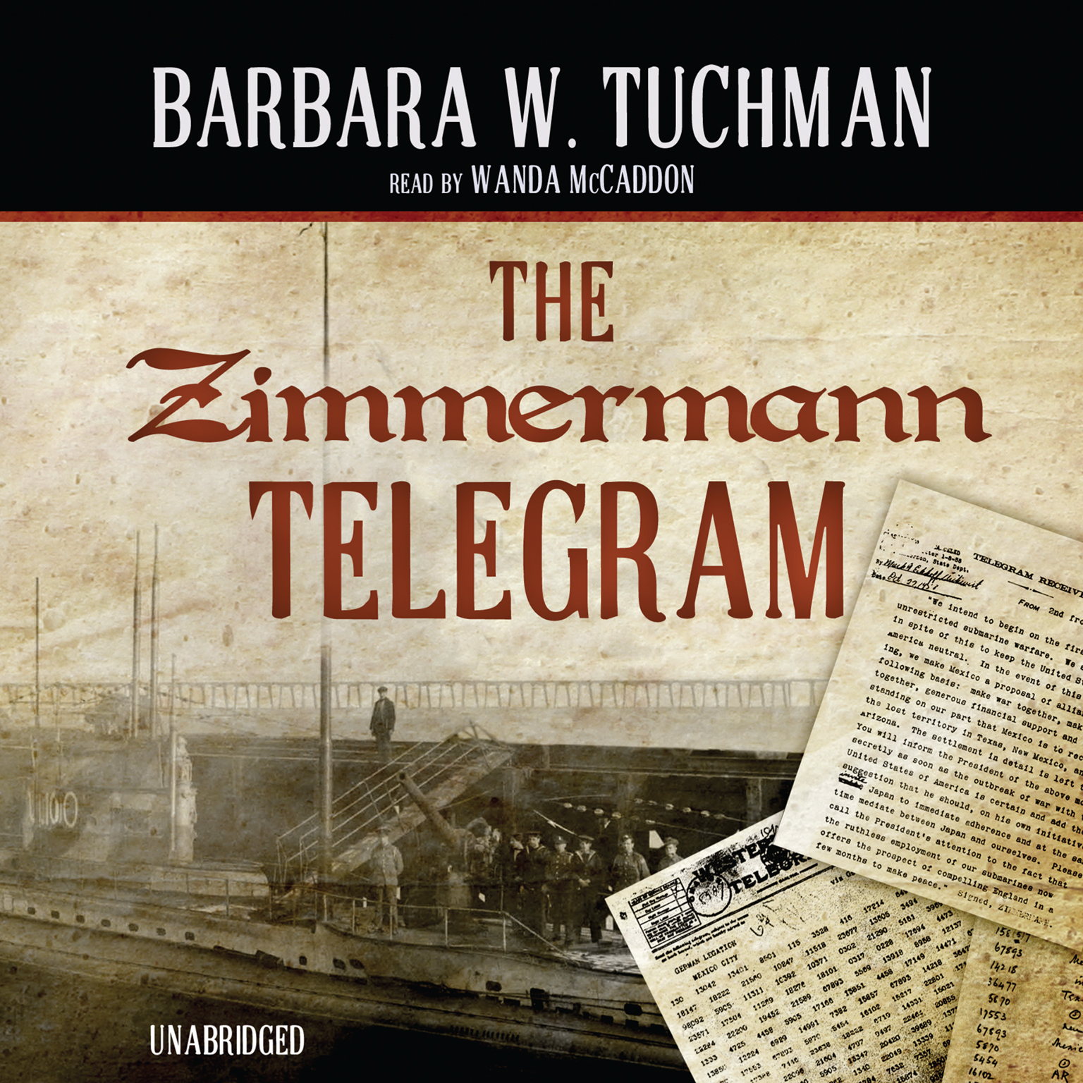 Printable The Zimmermann Telegram Audiobook Cover Art
