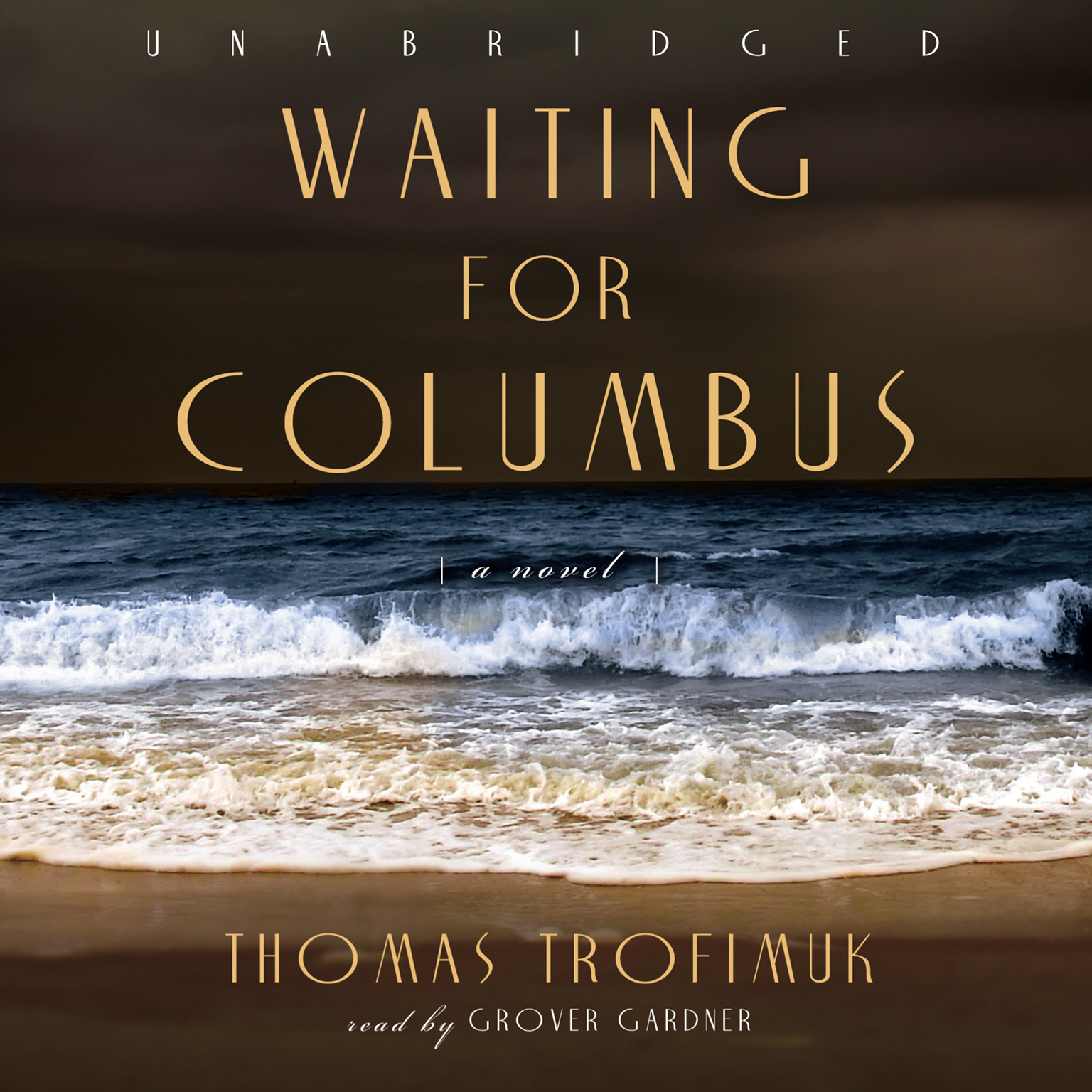 Printable Waiting for Columbus Audiobook Cover Art