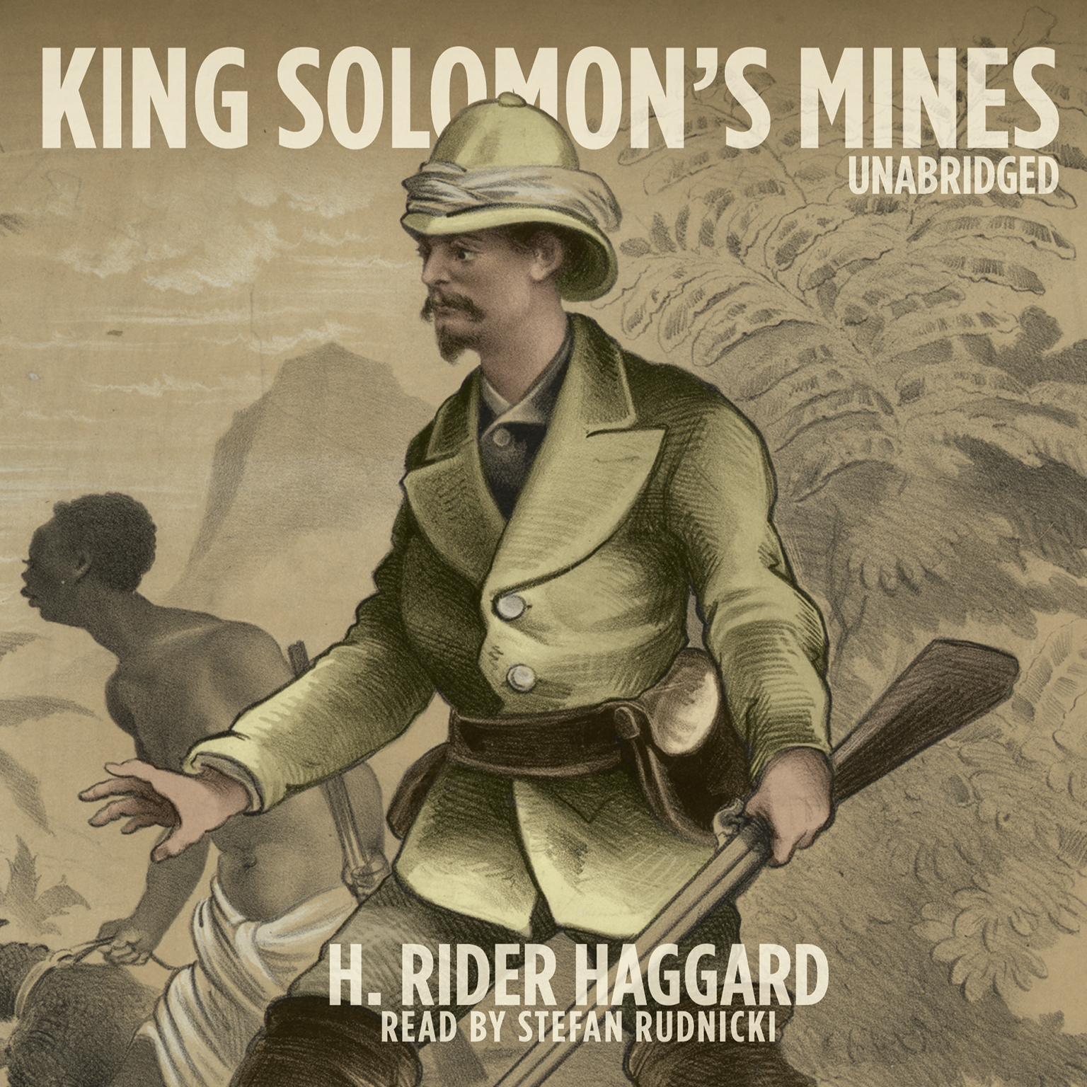 Printable King Solomon's Mines Audiobook Cover Art