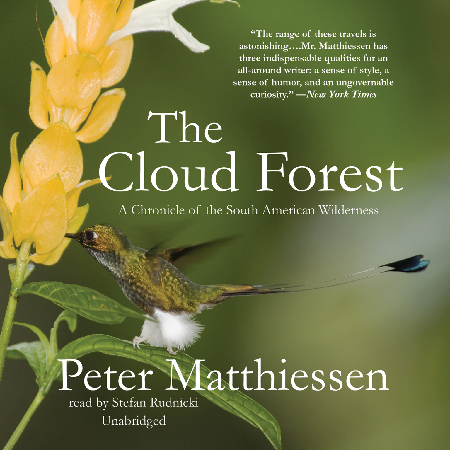 Printable The Cloud Forest: A Chronicle of the South American Wilderness Audiobook Cover Art