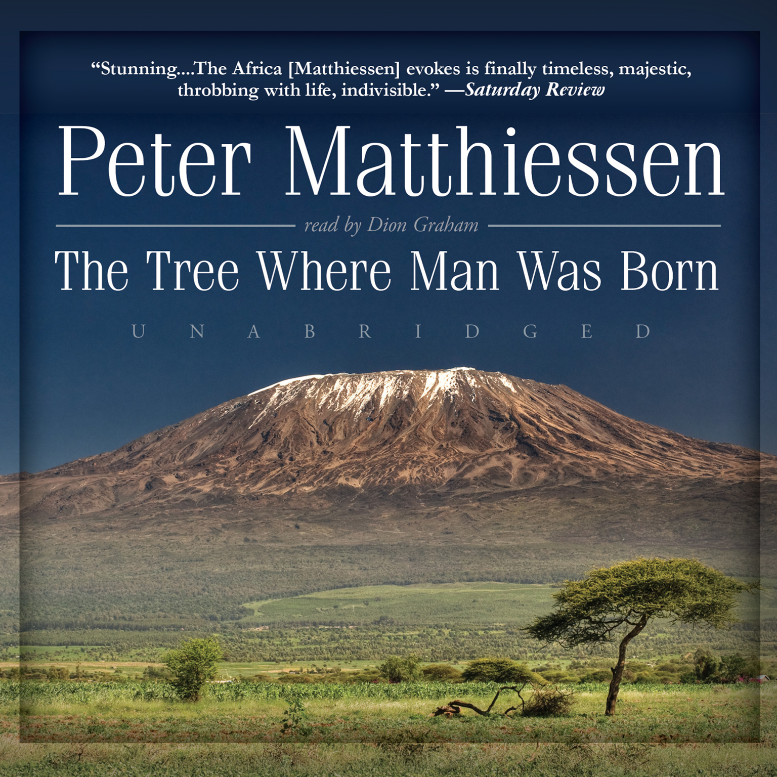 Printable The Tree Where Man Was Born Audiobook Cover Art