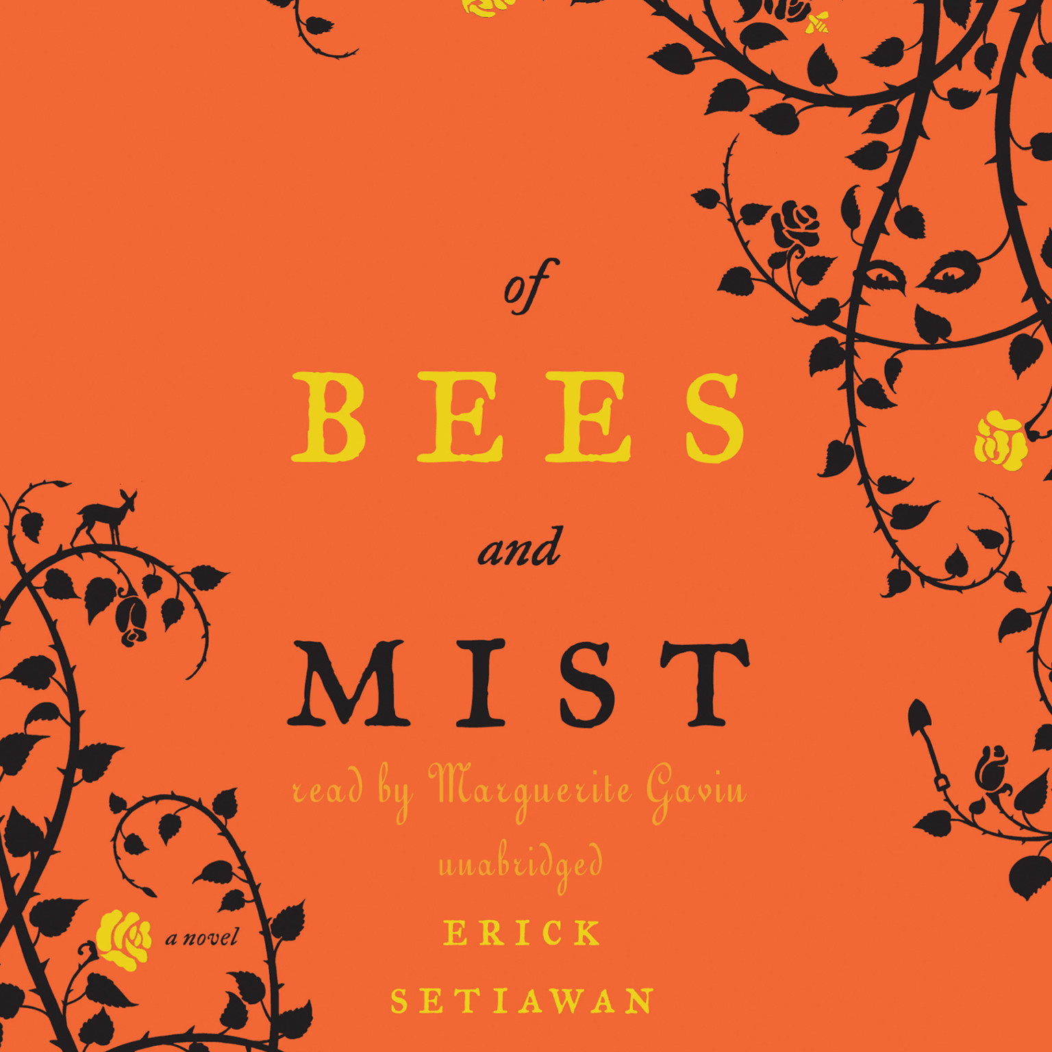 Printable Of Bees and Mist: A Novel Audiobook Cover Art