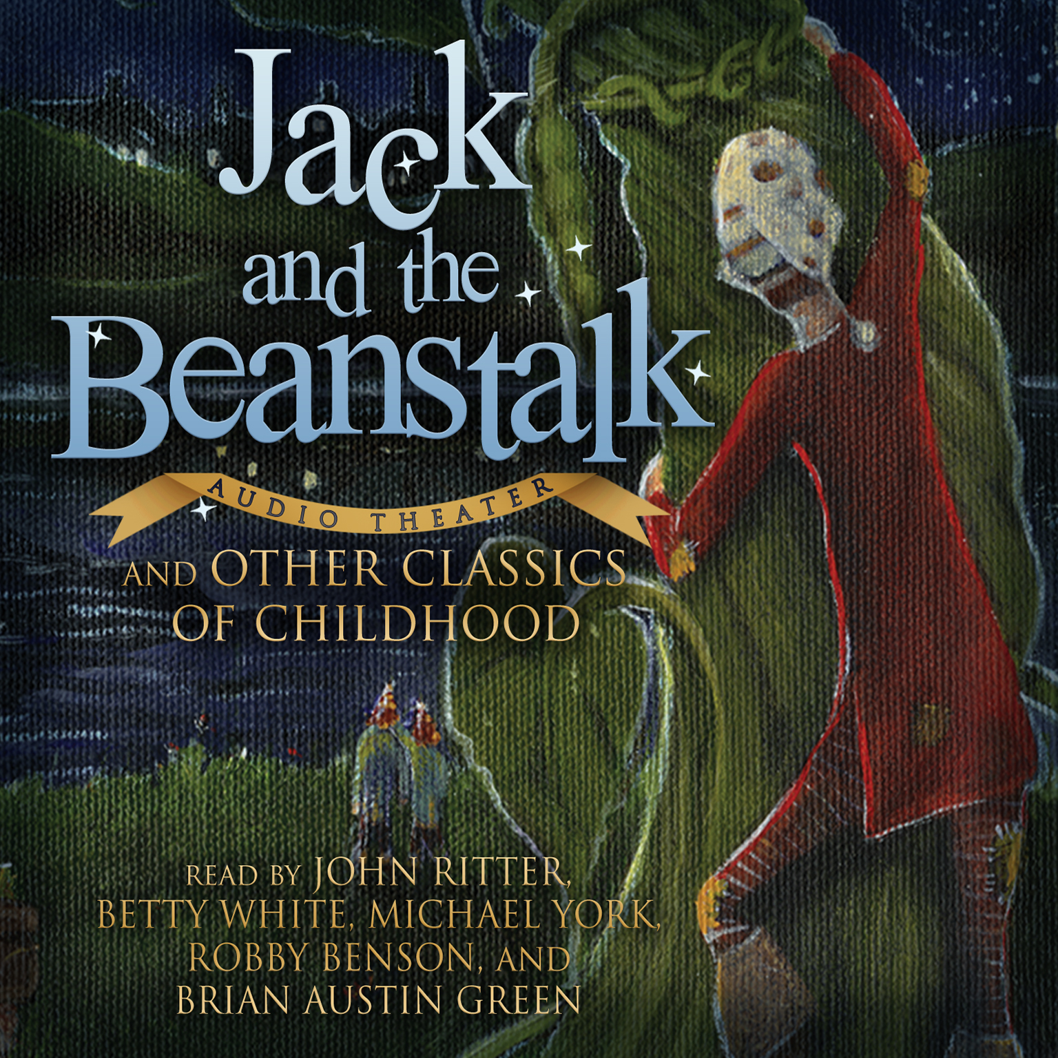 Printable Jack and the Beanstalk and Other Classics of Childhood Audiobook Cover Art