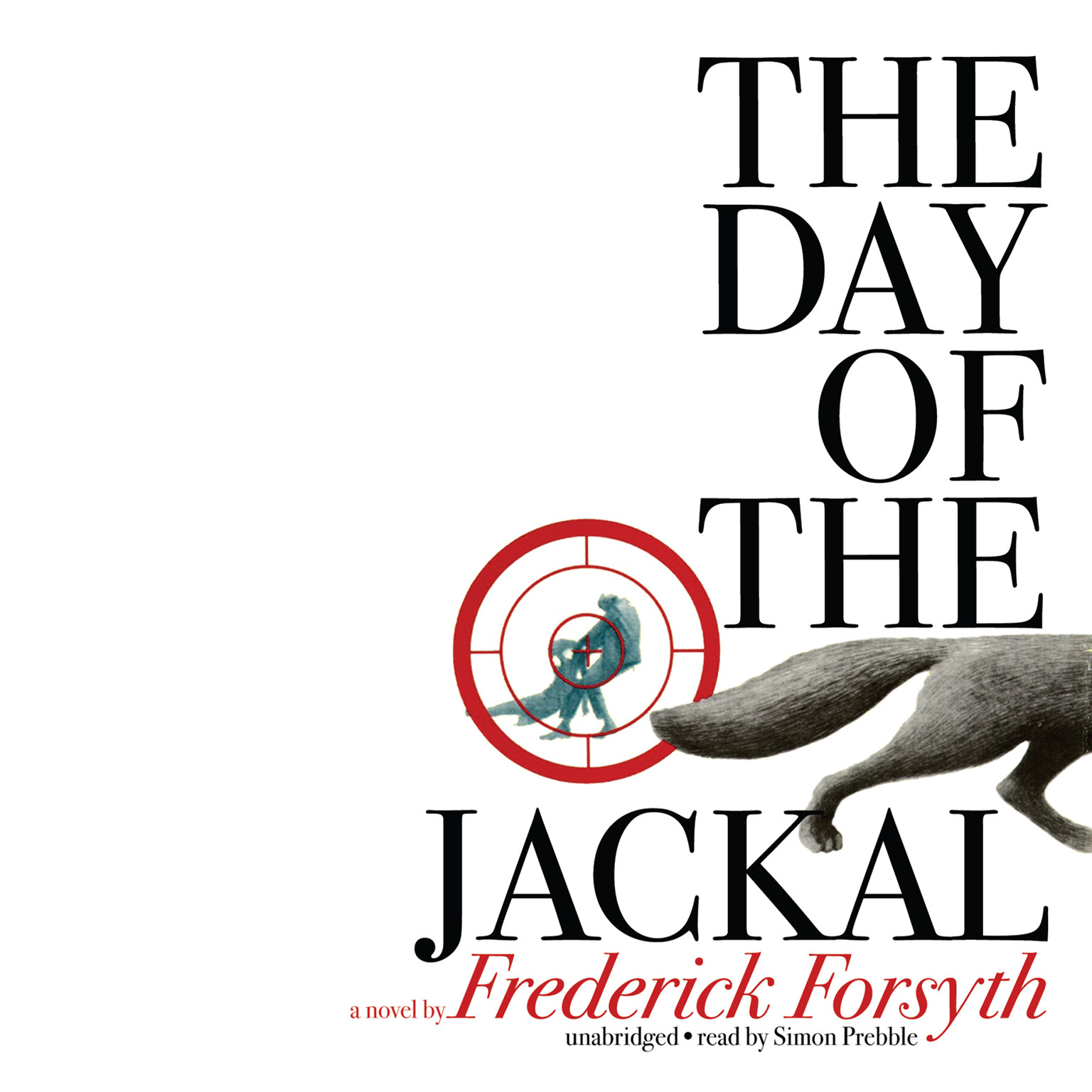 Printable The Day of the Jackal Audiobook Cover Art