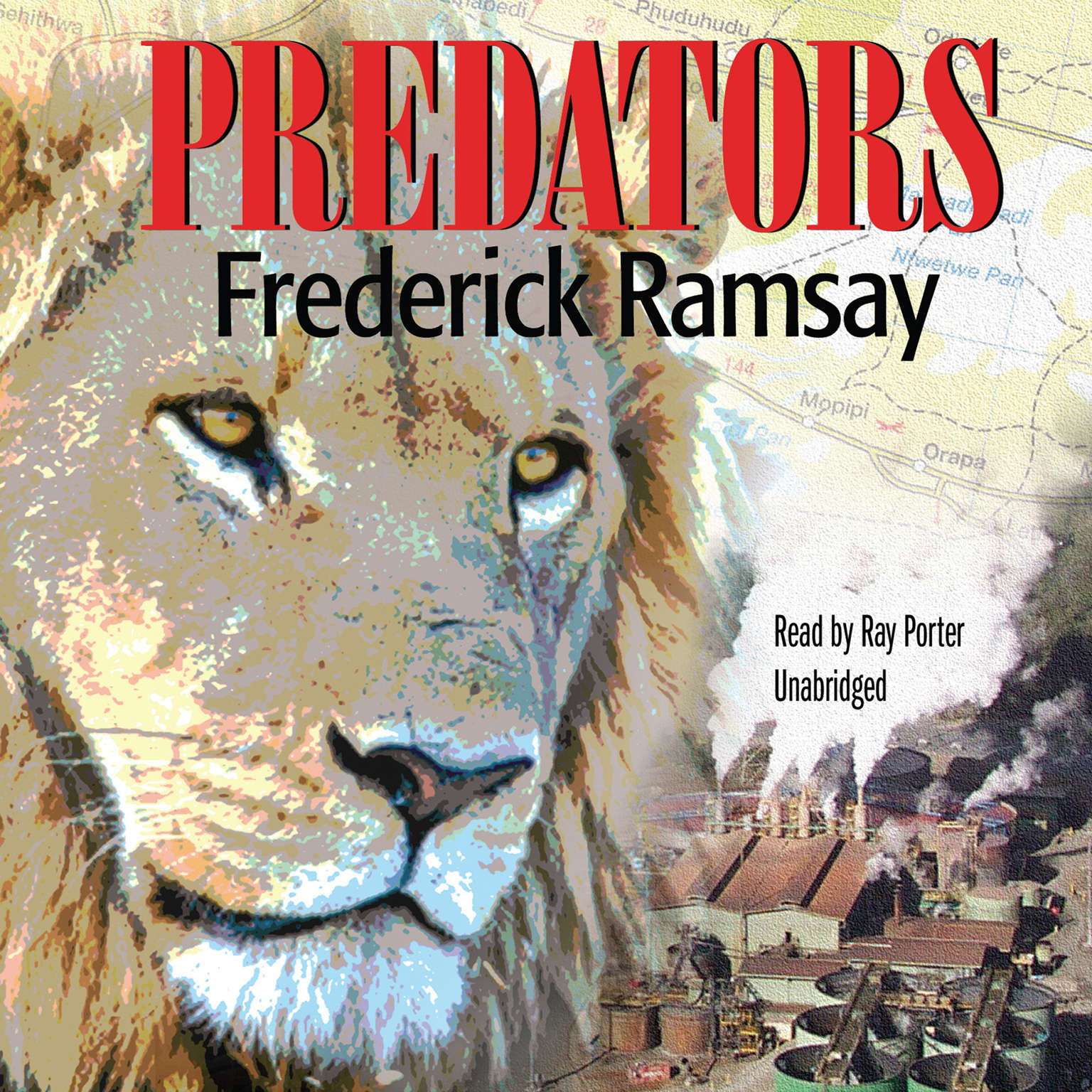 Printable Predators Audiobook Cover Art