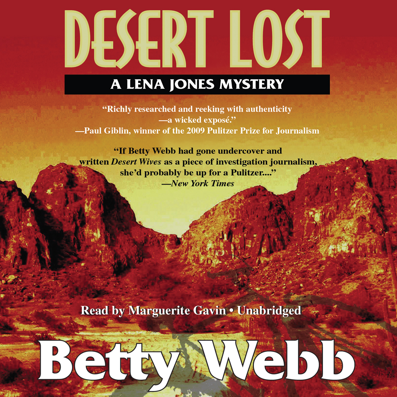 Printable Desert Lost: A Lena Jones Mystery Audiobook Cover Art