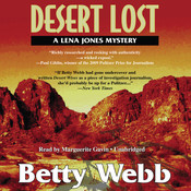 Desert Lost: A Lena Jones Mystery, by Betty Webb