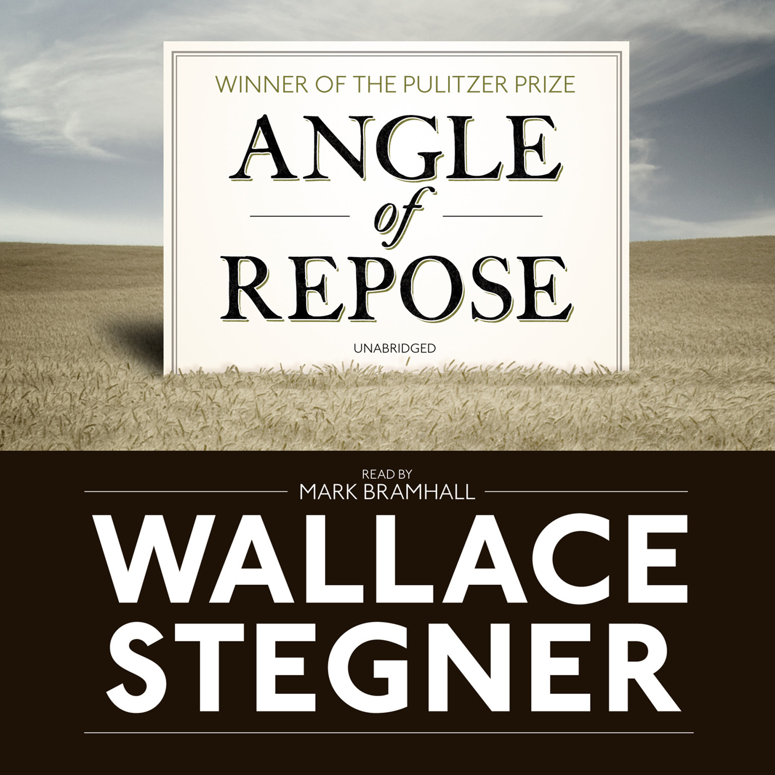 Printable Angle of Repose: Modern Classic Audiobook Cover Art