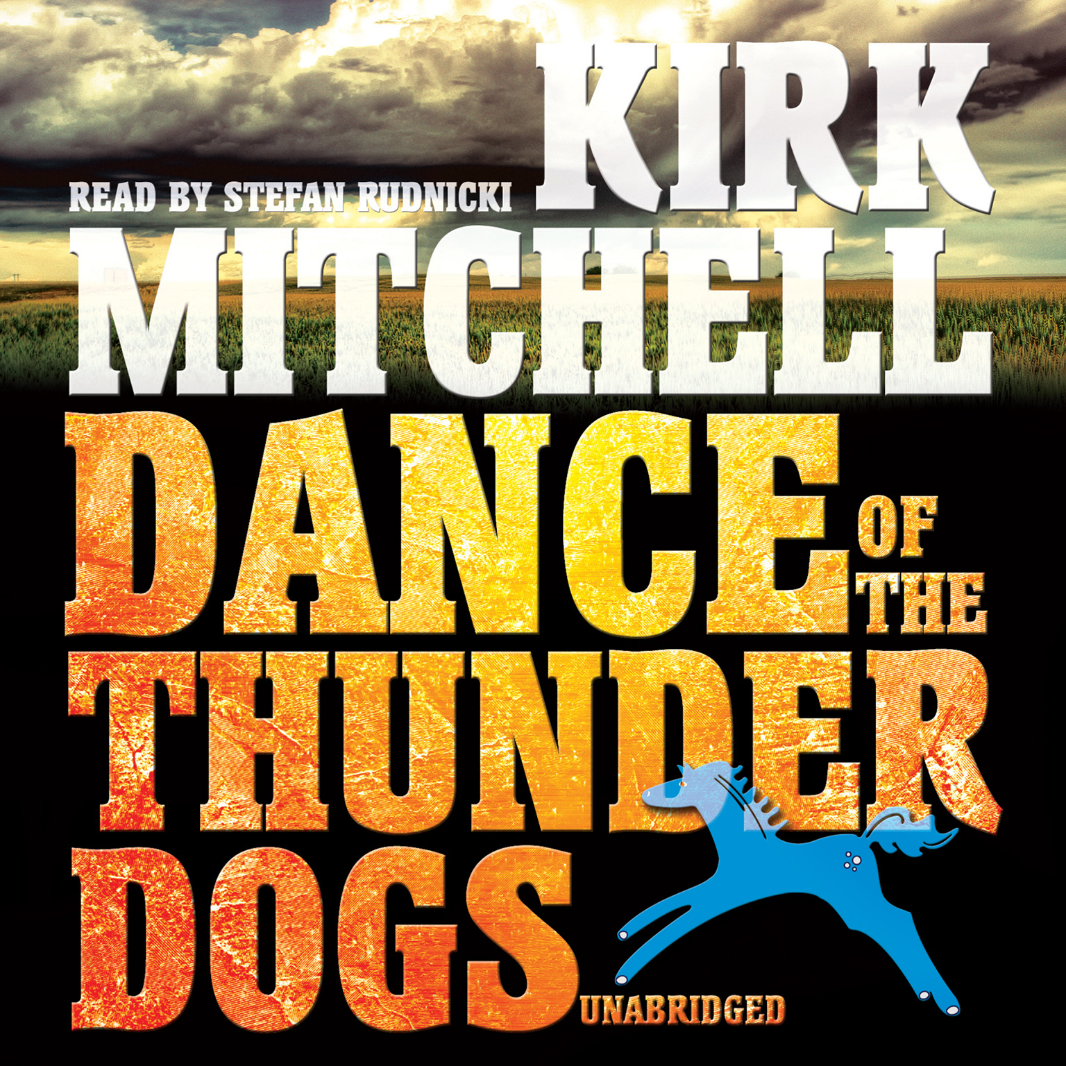 Printable Dance of the Thunder Dogs Audiobook Cover Art