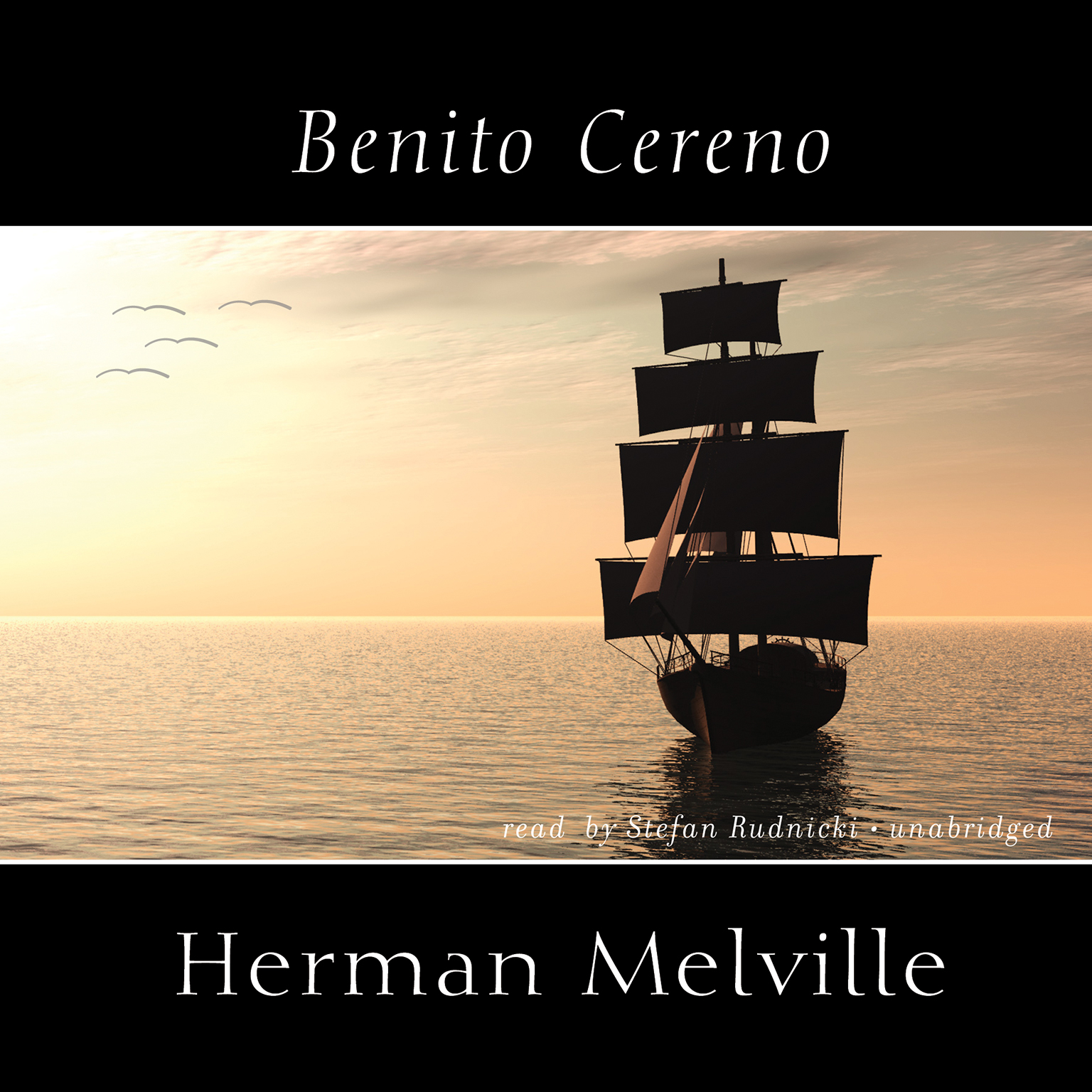 Printable Benito Cereno Audiobook Cover Art