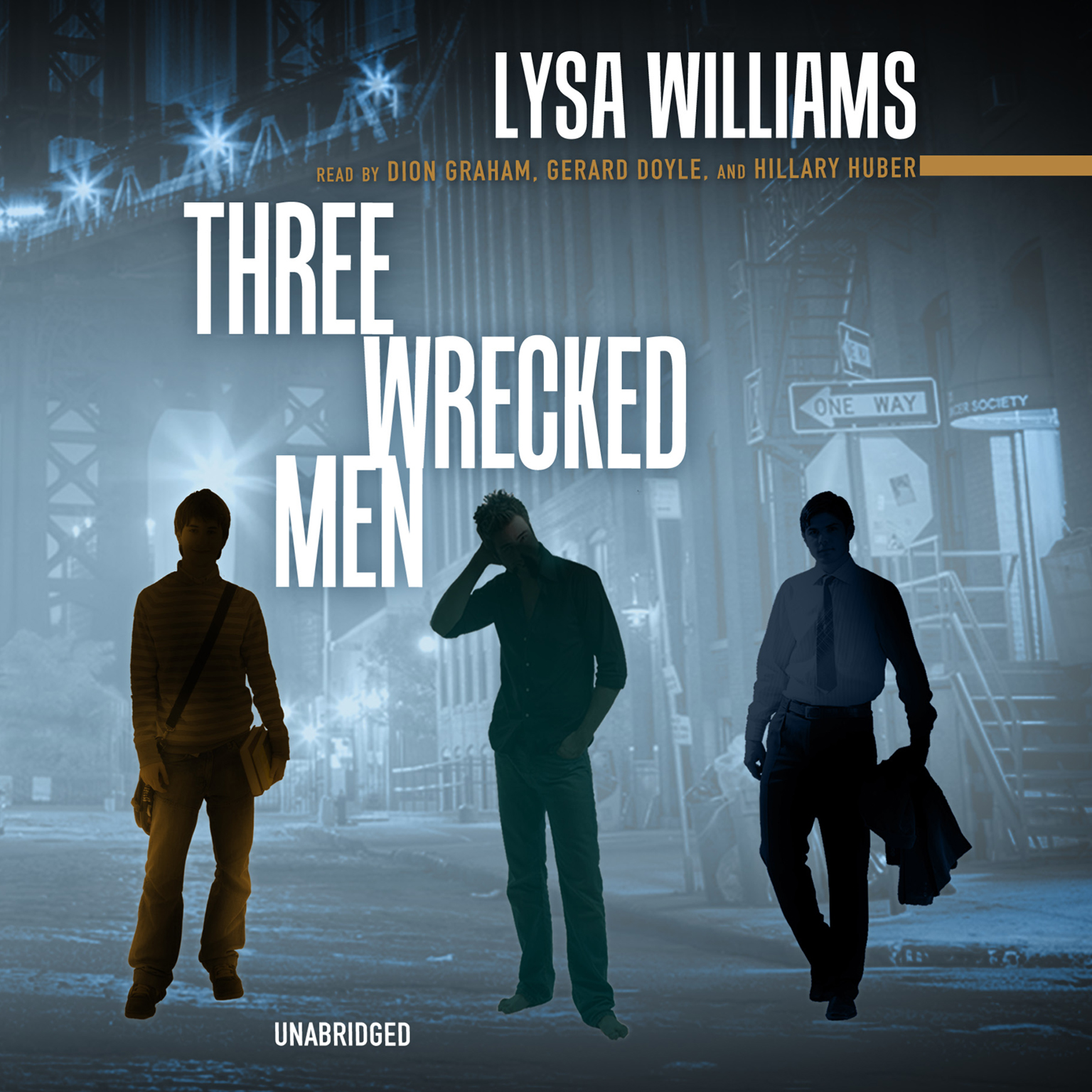 Printable Three Wrecked Men Audiobook Cover Art