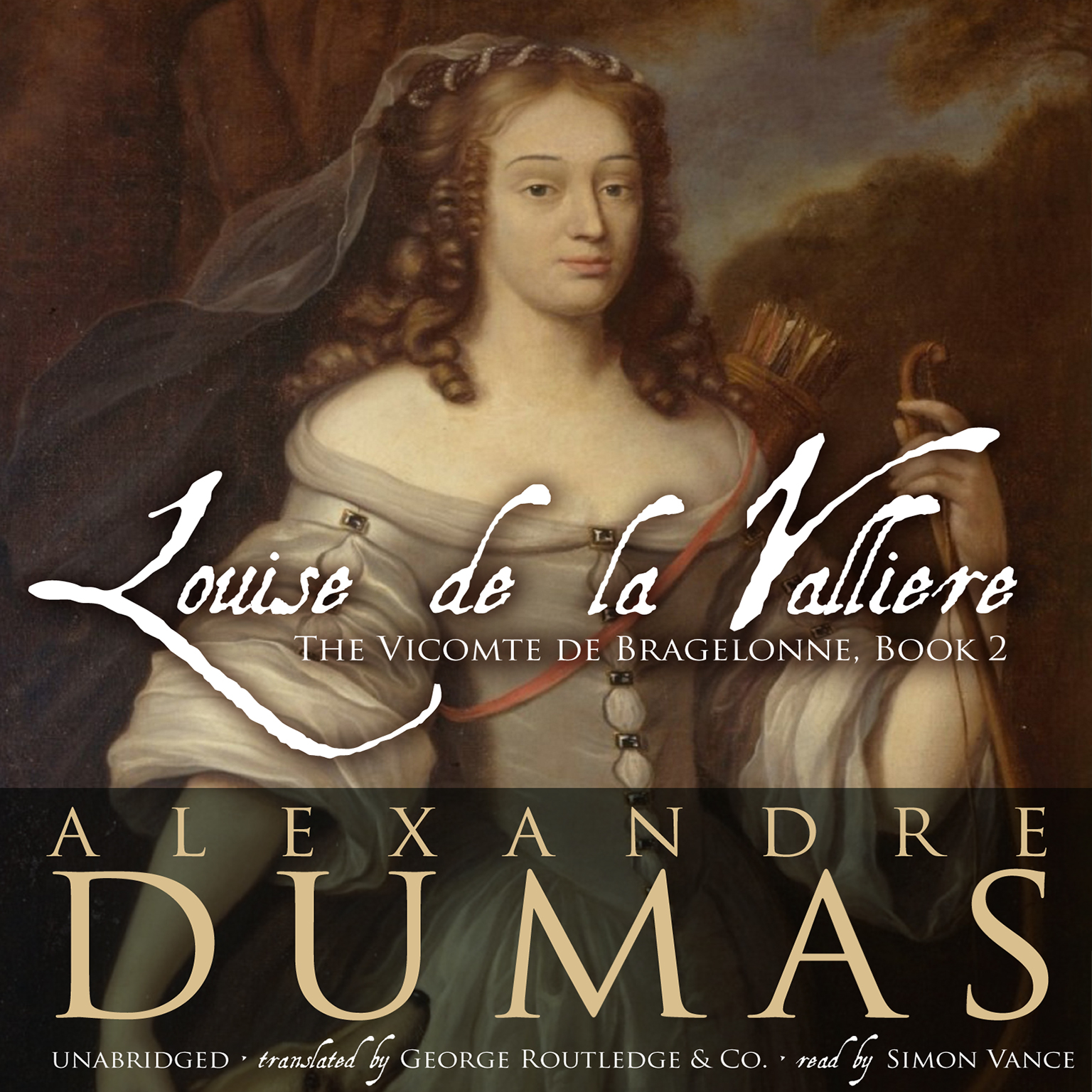 Printable Louise de La Vallière Audiobook Cover Art