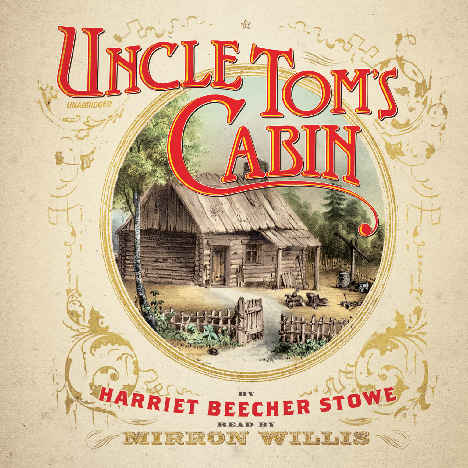 Printable Uncle Tom's Cabin Audiobook Cover Art