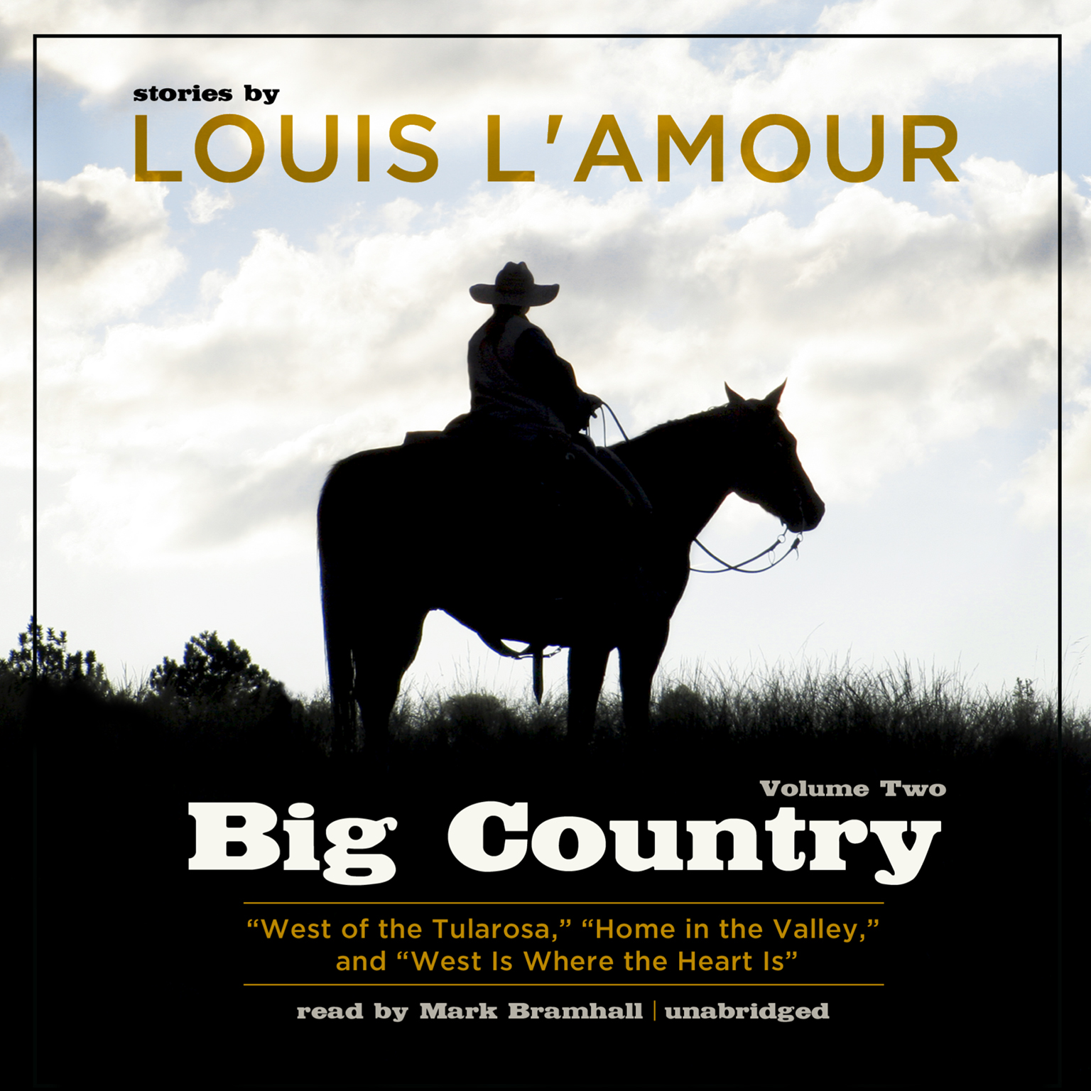 Printable Big Country, Vol. 2: Stories of Louis L'Amour Audiobook Cover Art