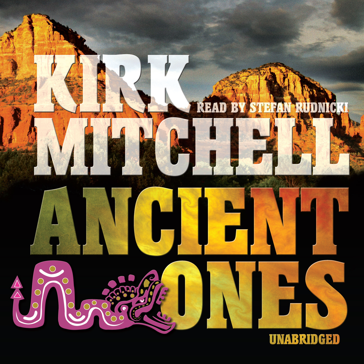 Printable Ancient Ones: An Emmett Parker and Anna Turnipseed Mystery Audiobook Cover Art