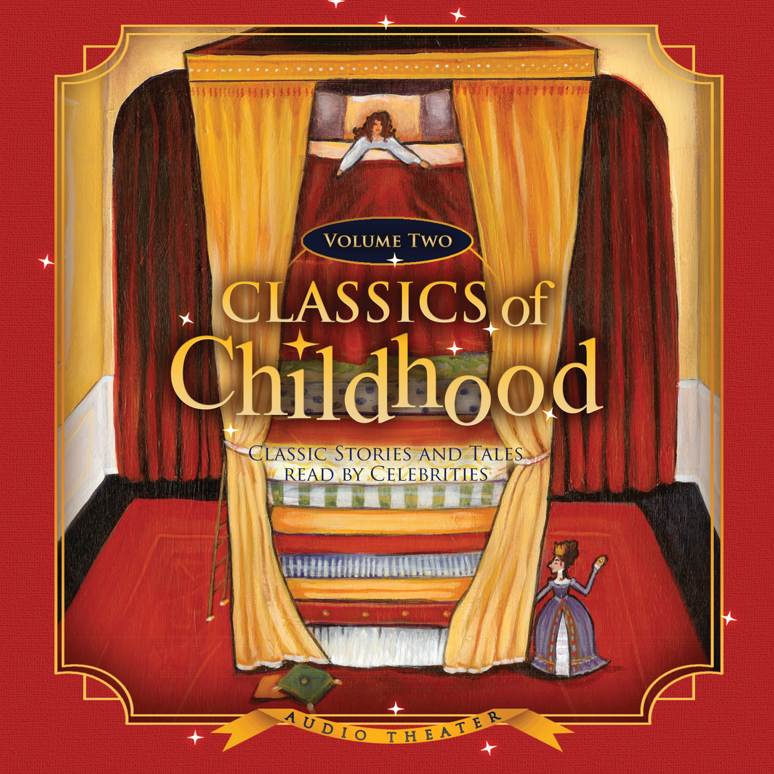 Printable Classics of Childhood, Vol. 2: Classic Stories and Tales Read by Celebrities Audiobook Cover Art