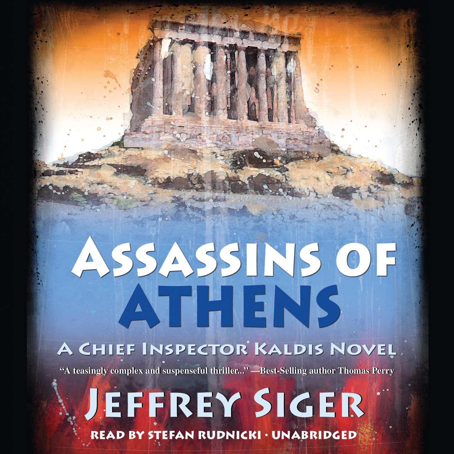 Printable Assassins of Athens Audiobook Cover Art
