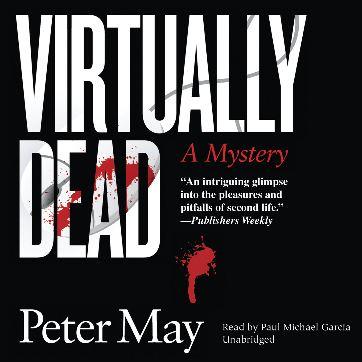 Printable Virtually Dead Audiobook Cover Art