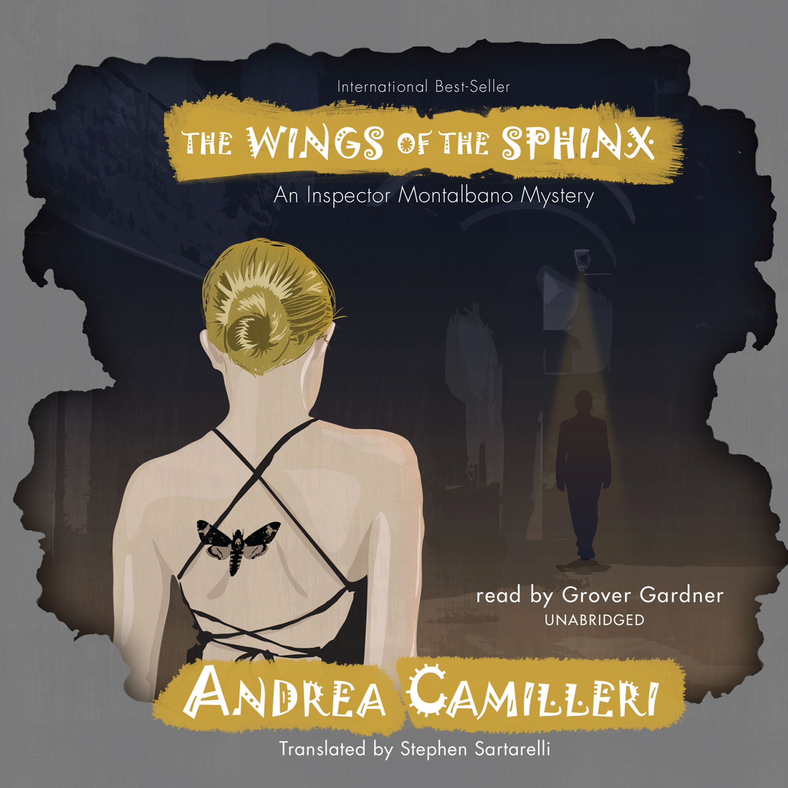 Printable The Wings of the Sphinx Audiobook Cover Art