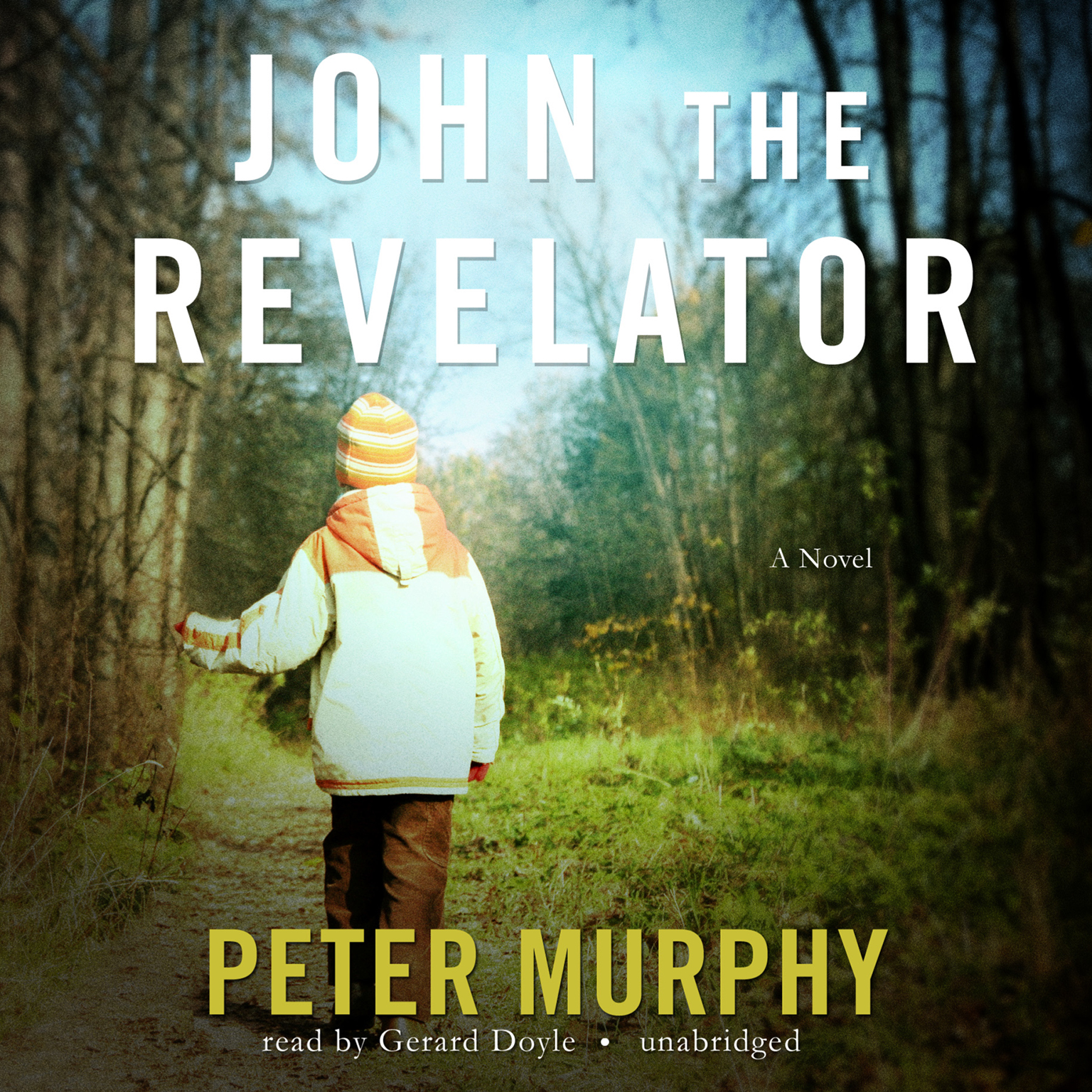 Printable John the Revelator Audiobook Cover Art