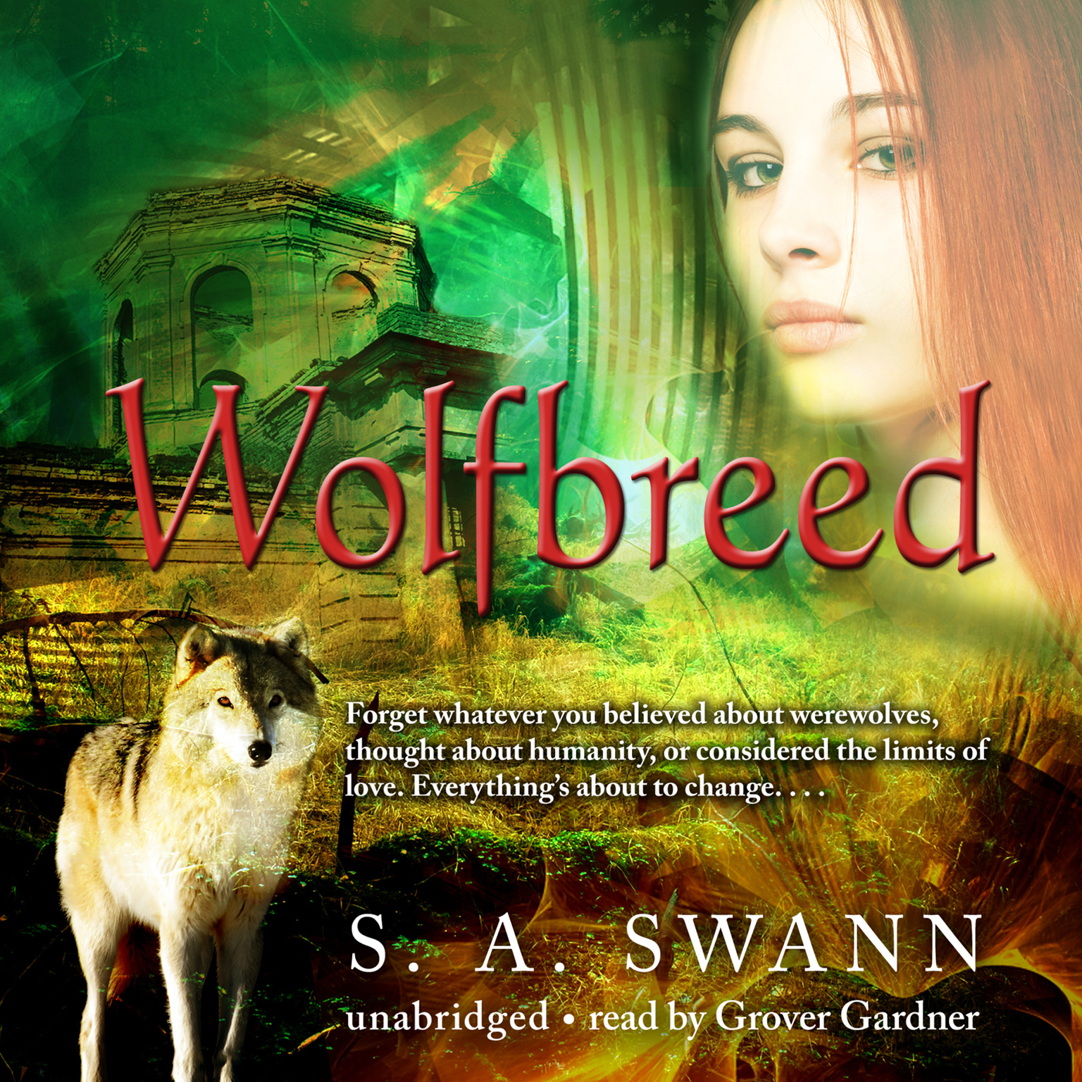 Printable Wolfbreed Audiobook Cover Art
