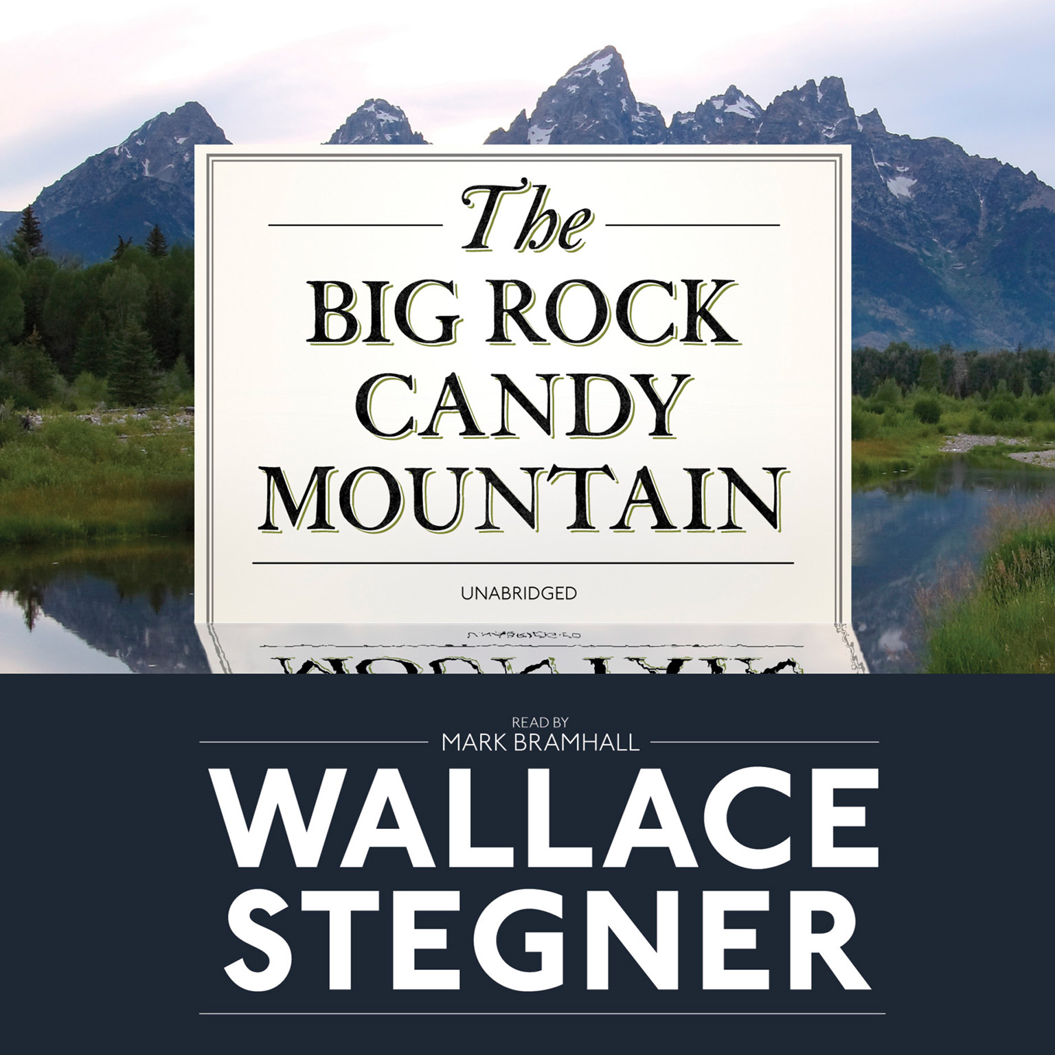 Printable The Big Rock Candy Mountain Audiobook Cover Art