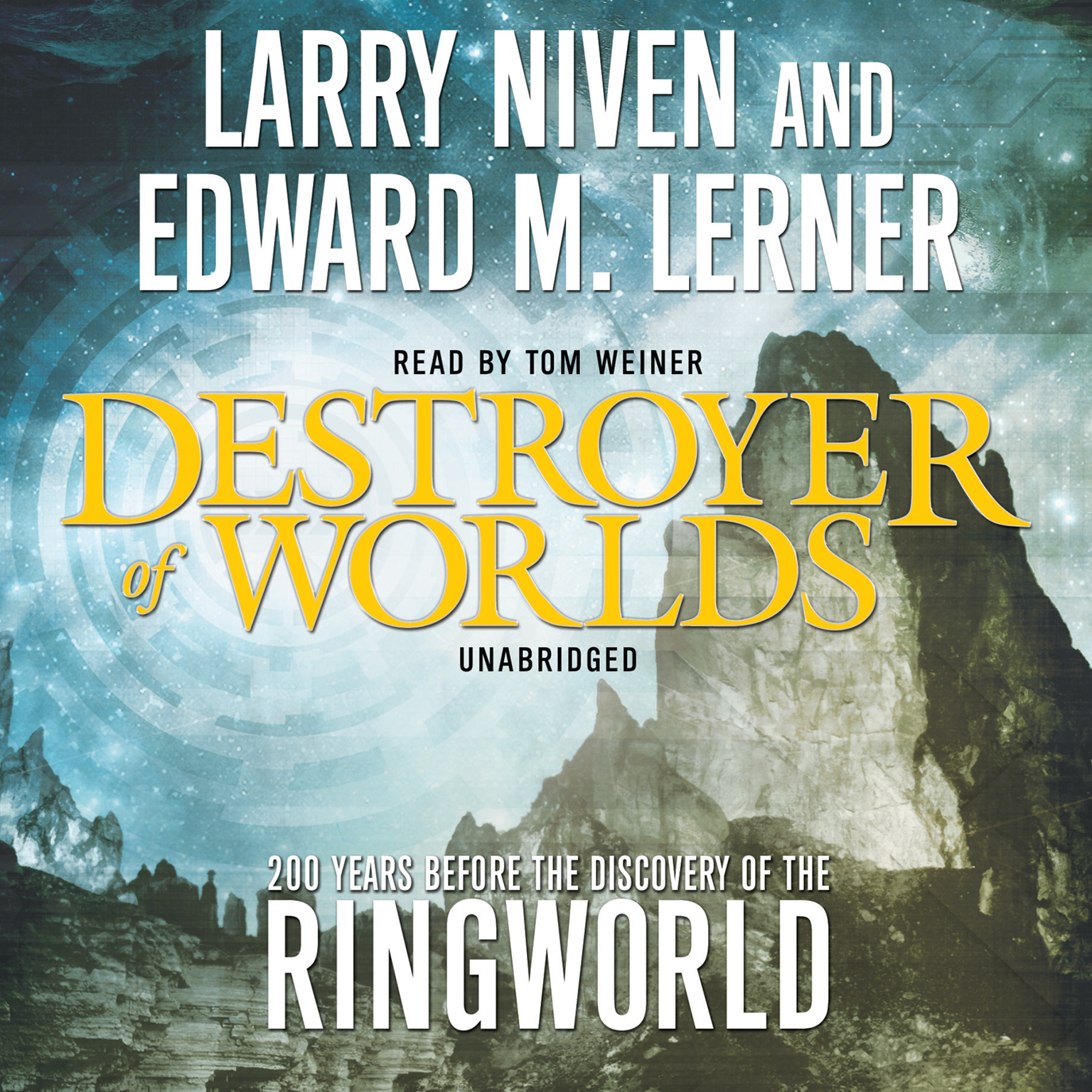 Printable Destroyer of Worlds Audiobook Cover Art