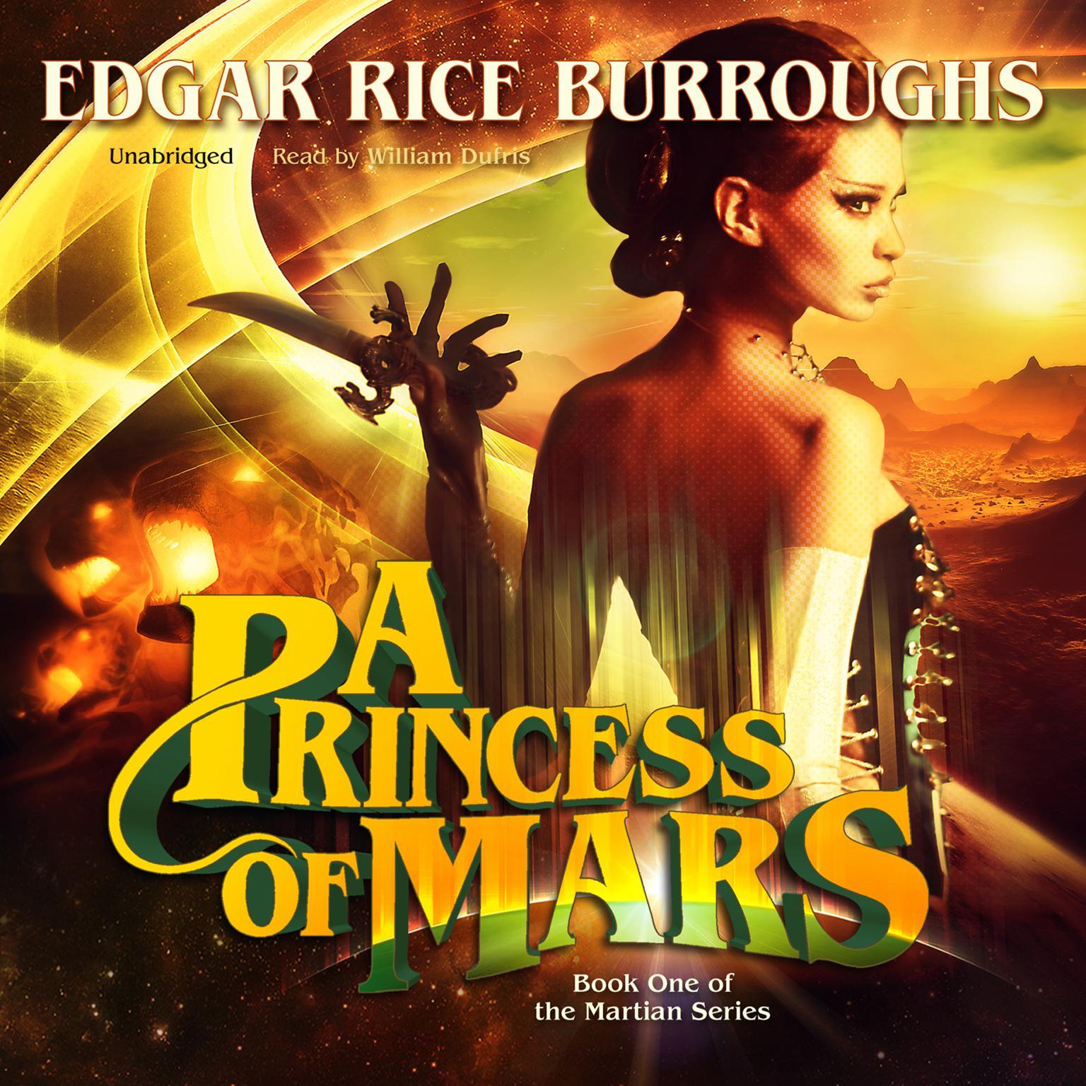 Printable A Princess of Mars Audiobook Cover Art