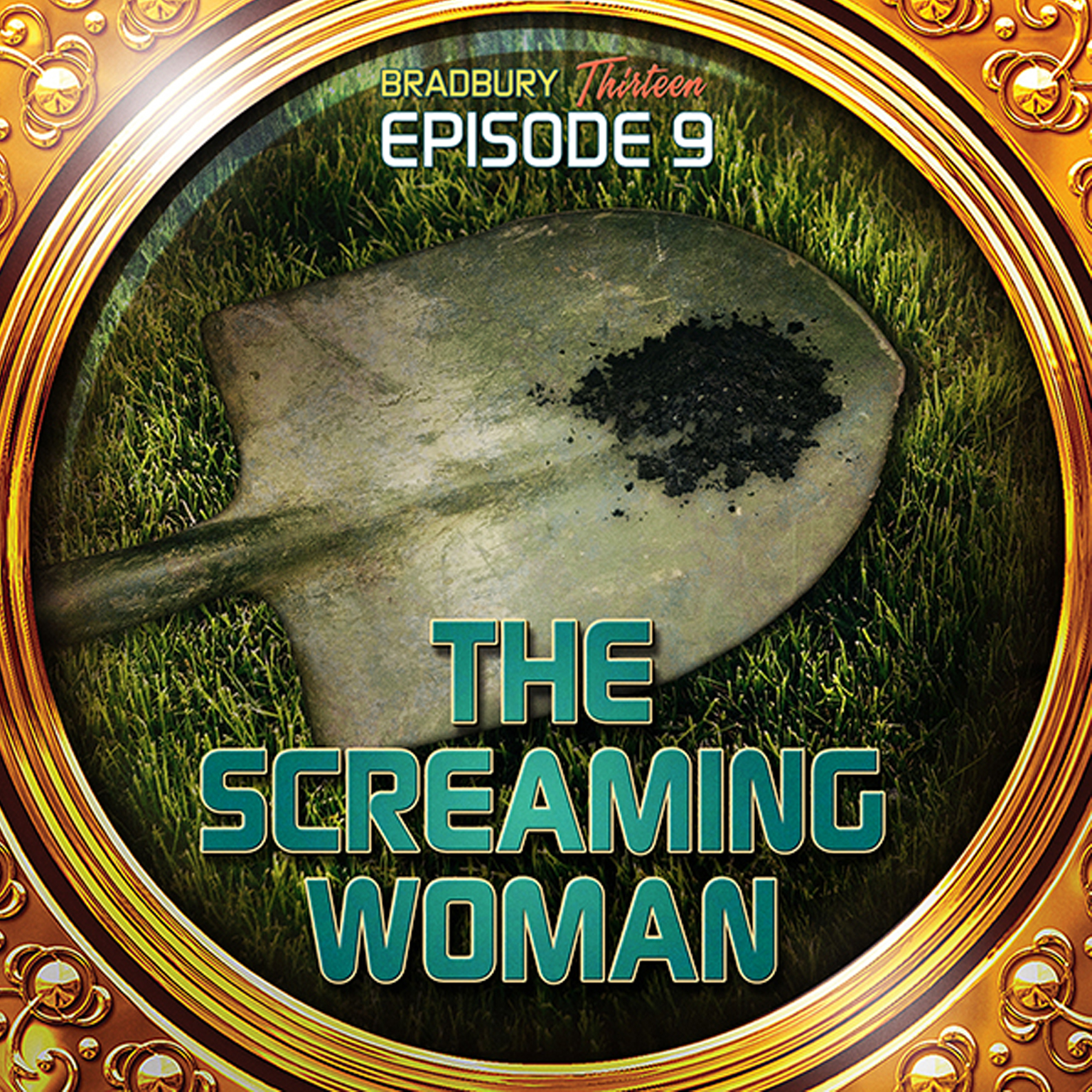 Printable The Screaming Woman: Bradbury Thirteen: Episode 9 Audiobook Cover Art